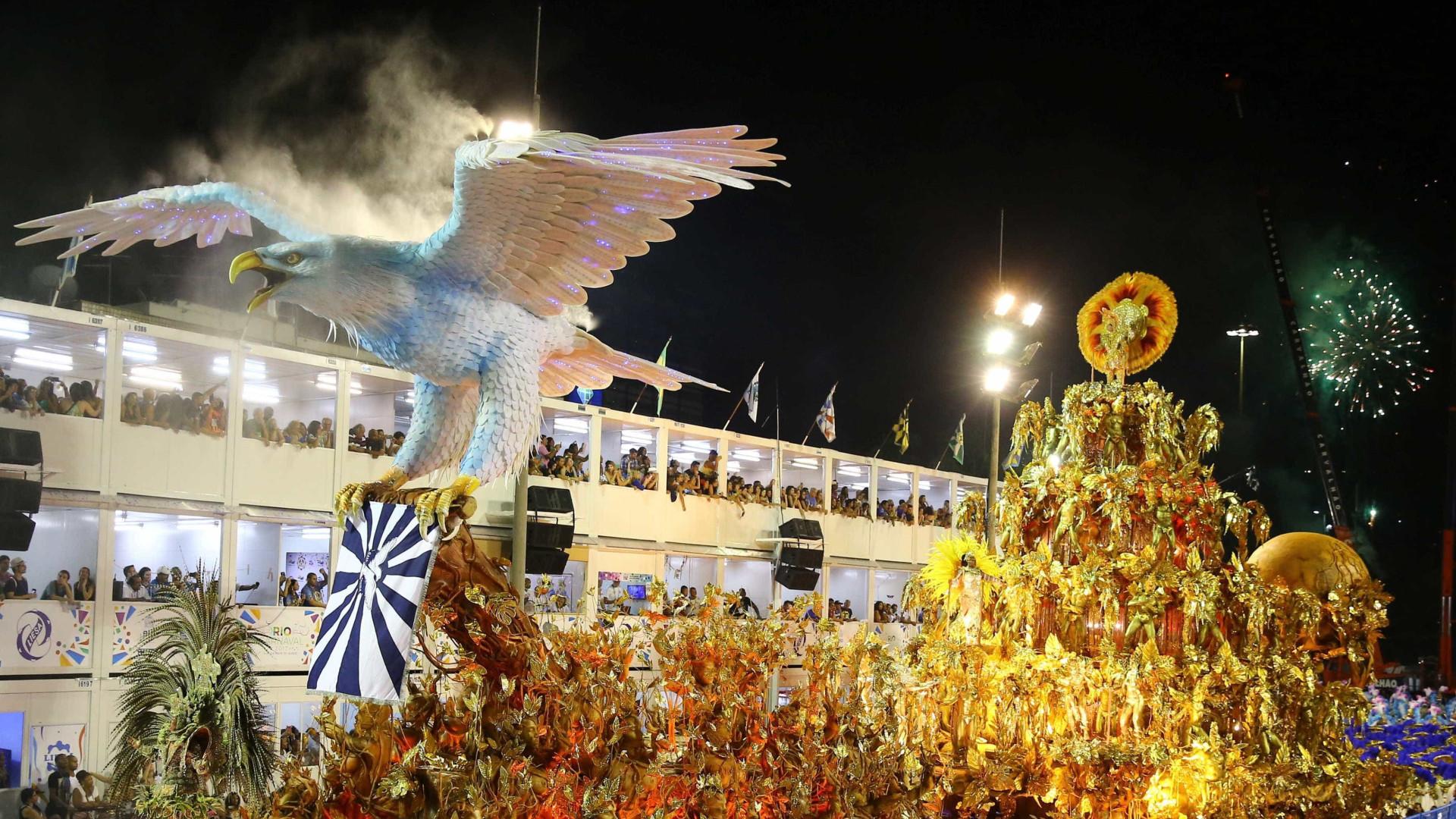 Começa hoje desfile do Grupo Especial das Escolas de Samba do Rio