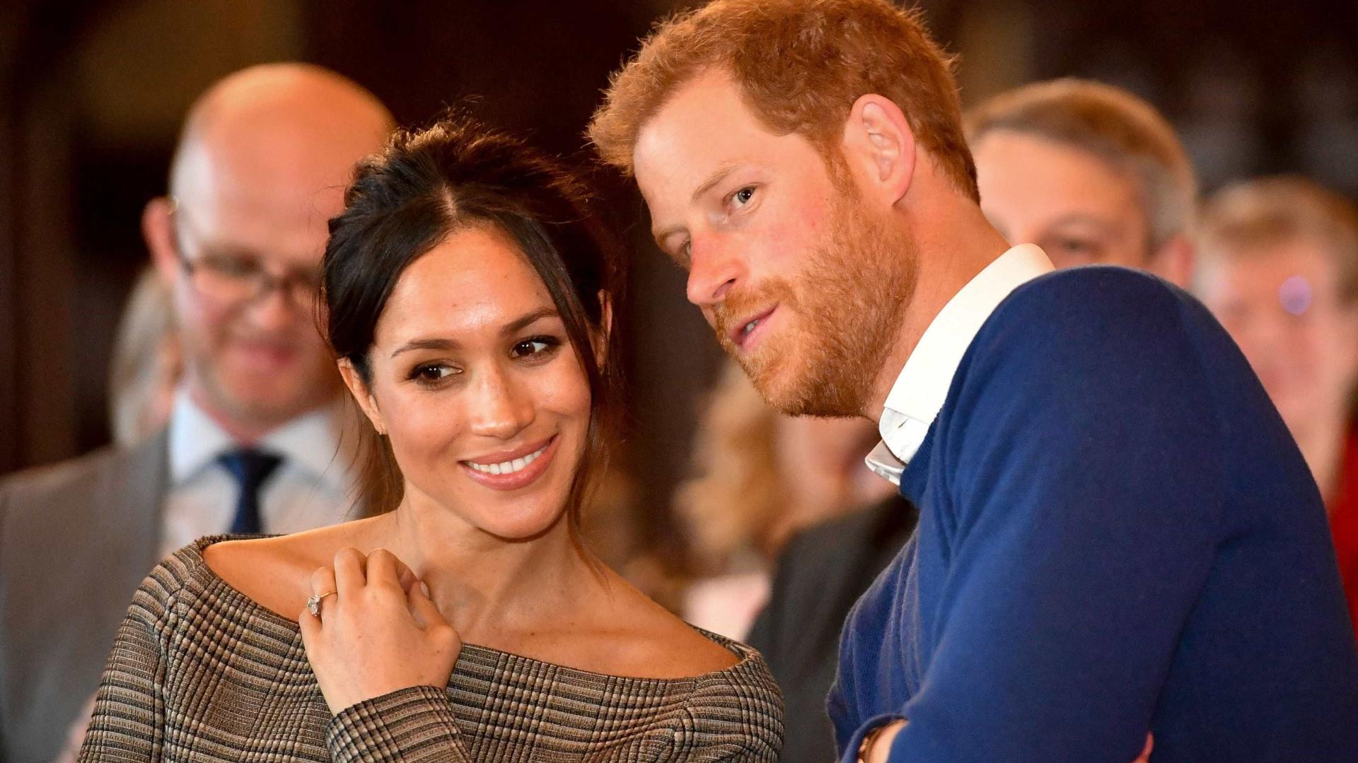 Palácio divulga detalhes do casamento de Harry e Meghan