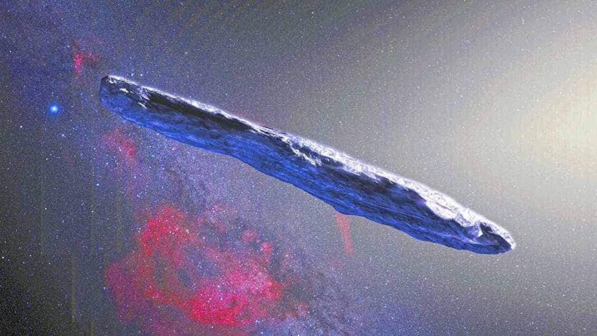 Cientistas revelam 'passado violento' de asteroide parecido com nave