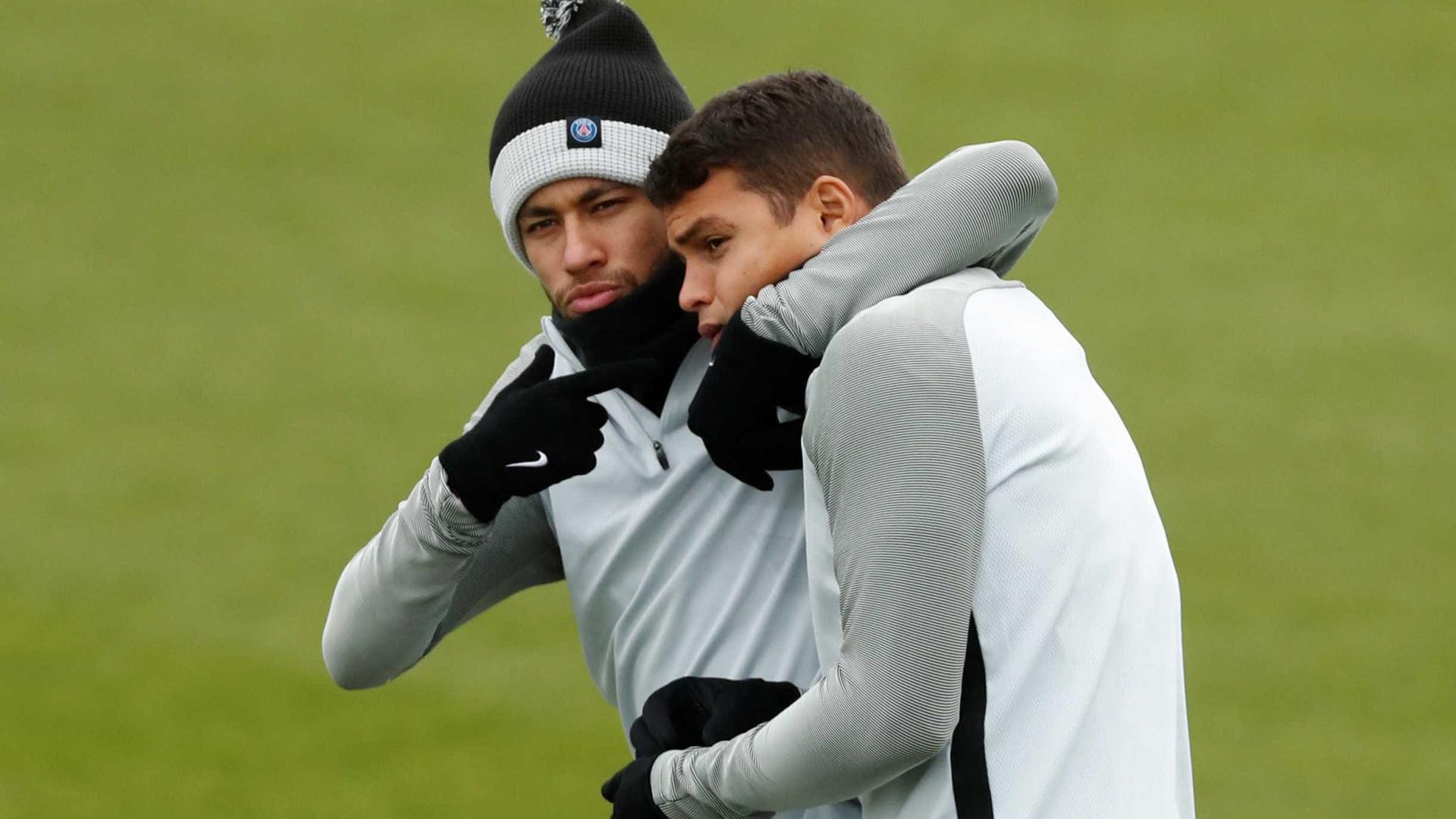 Em Madrid, PSG e Neymar começam a desafiar o Real Madrid de CR7