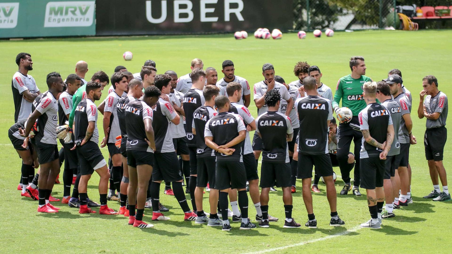 Atlético-MG libera entrada de repórter no CT após confusão com Oswaldo