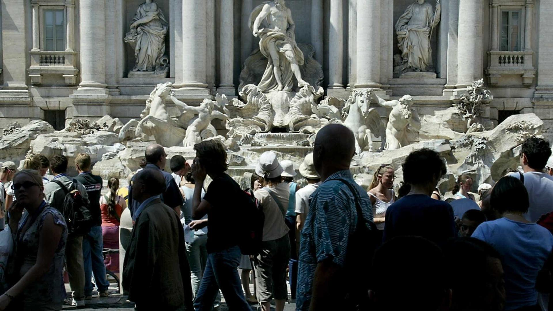 Após seca, fontes históricas de Roma serão reabertas