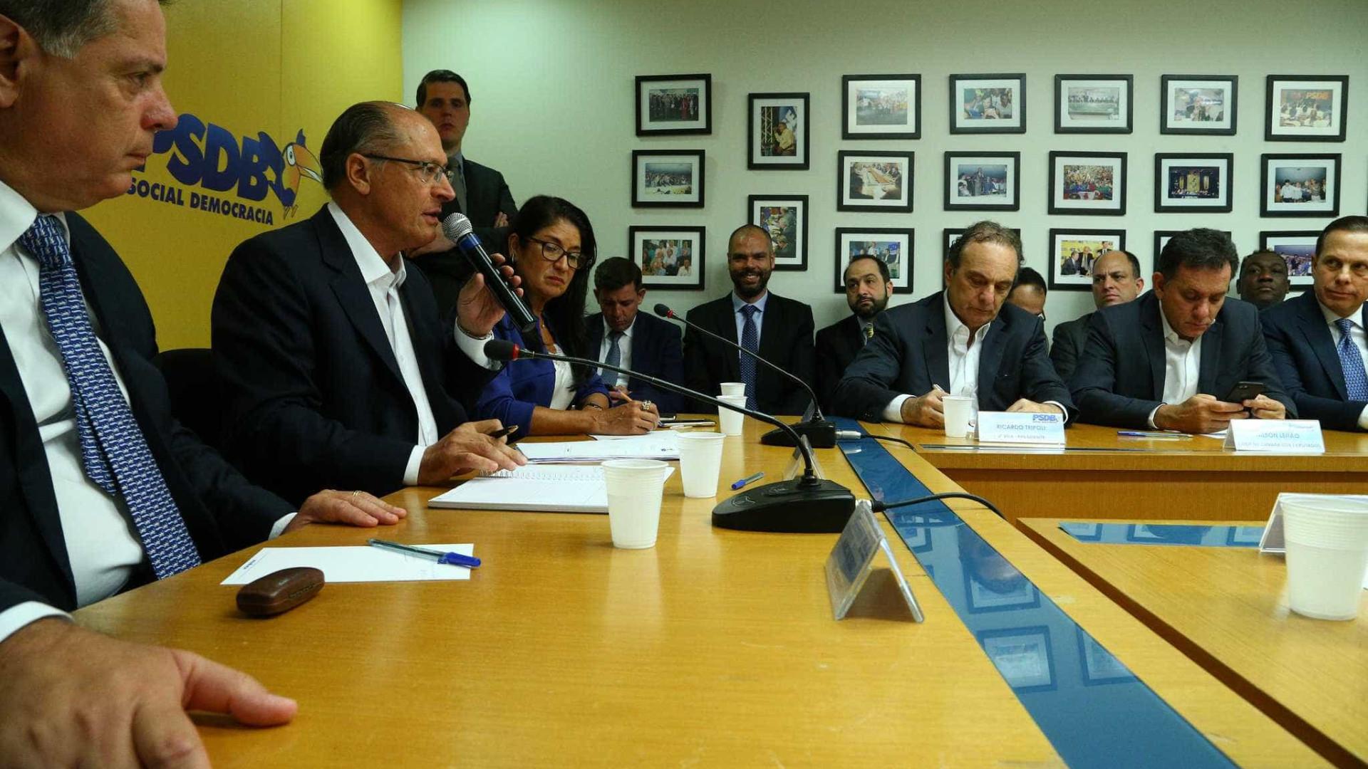 PSDB terá candidato próprio ao governo estadual, diz Alckmin