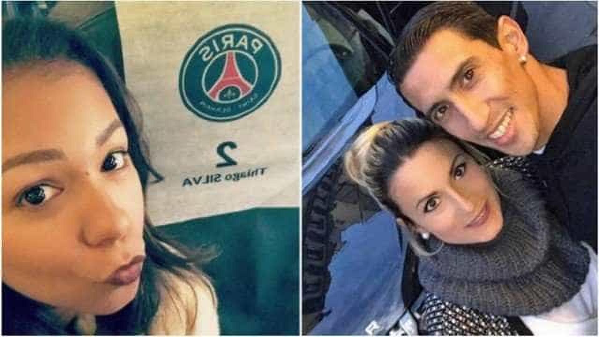 Mulheres de Thiago Silva e Di María postam críticas ao técnico do PSG