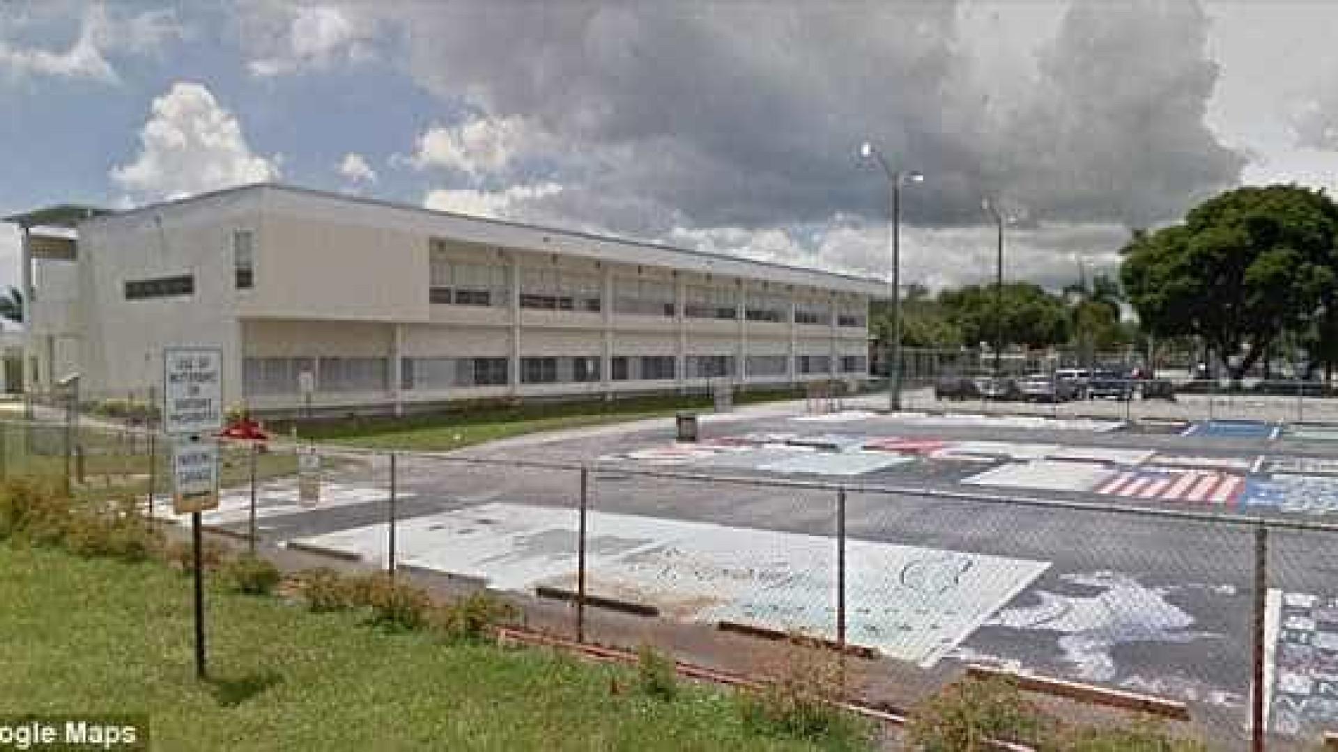 EUA: menina é presa após escrever bilhete ameaçando atirar em escola