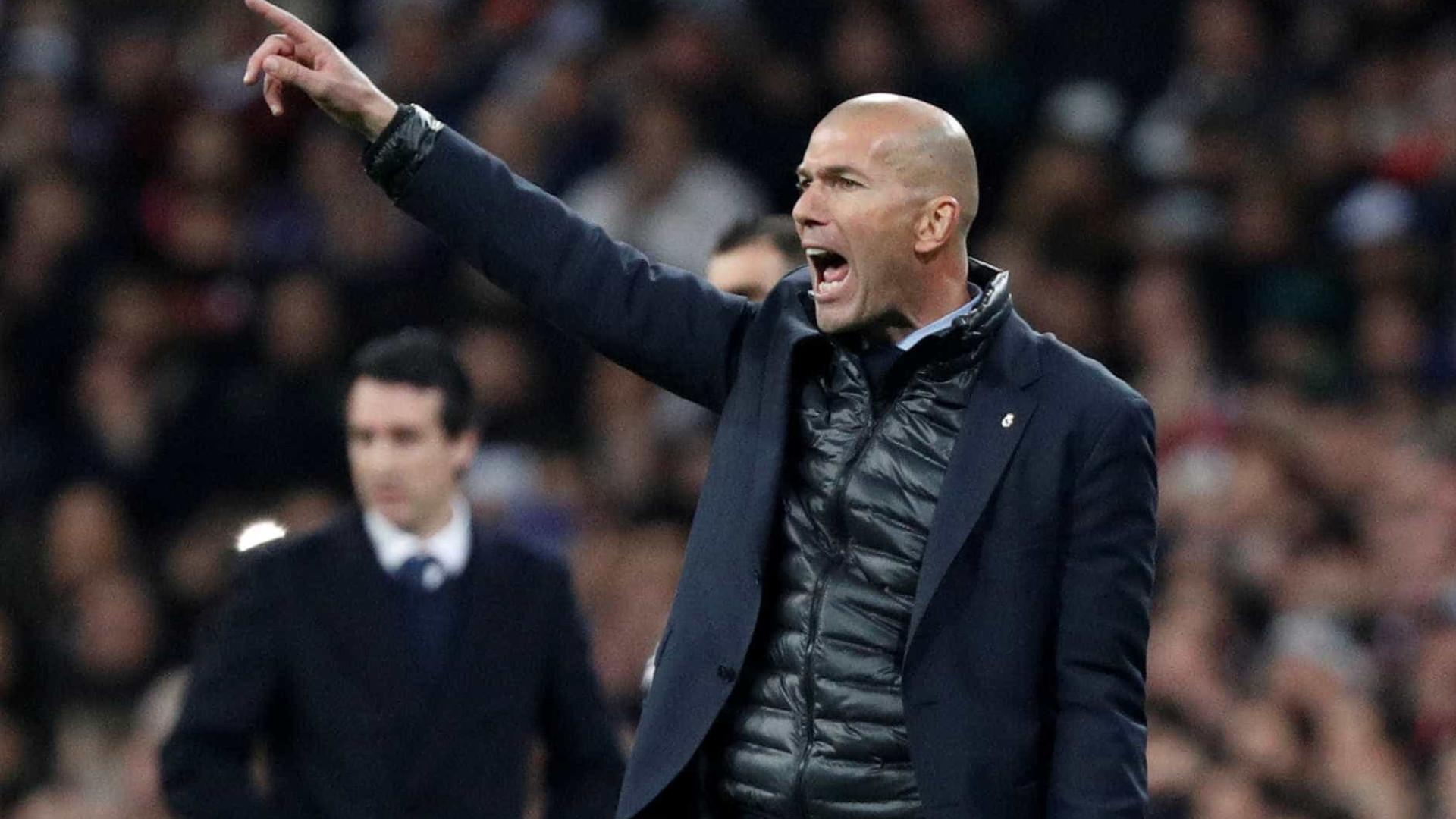 Real Madrid já tem três nomes para o lugar de Zidane