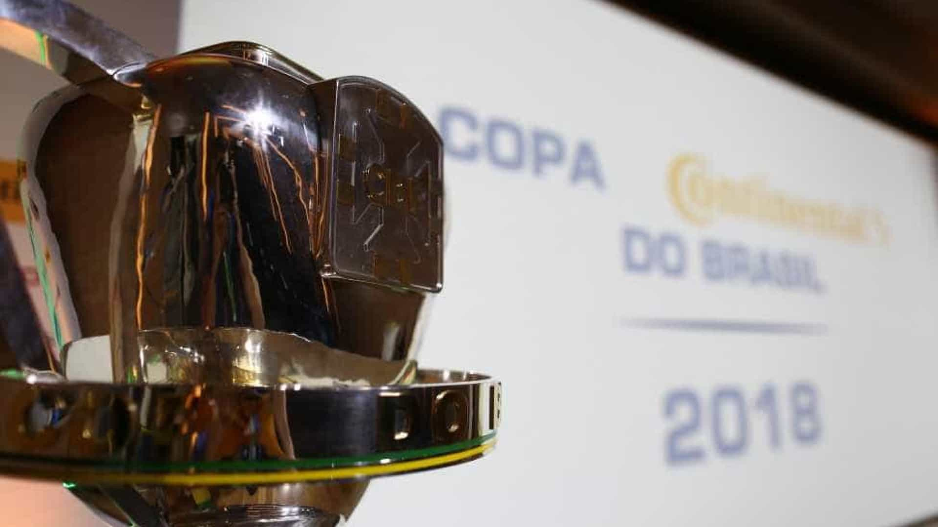 Confira quais serão os confrontos da 3ª fase da Copa do Brasil