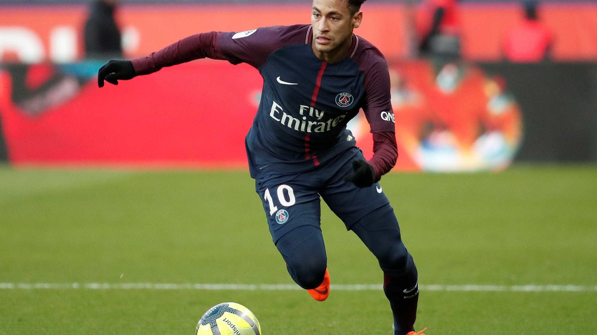 Neymar é o segundo melhor driblador da Europa, diz estudo