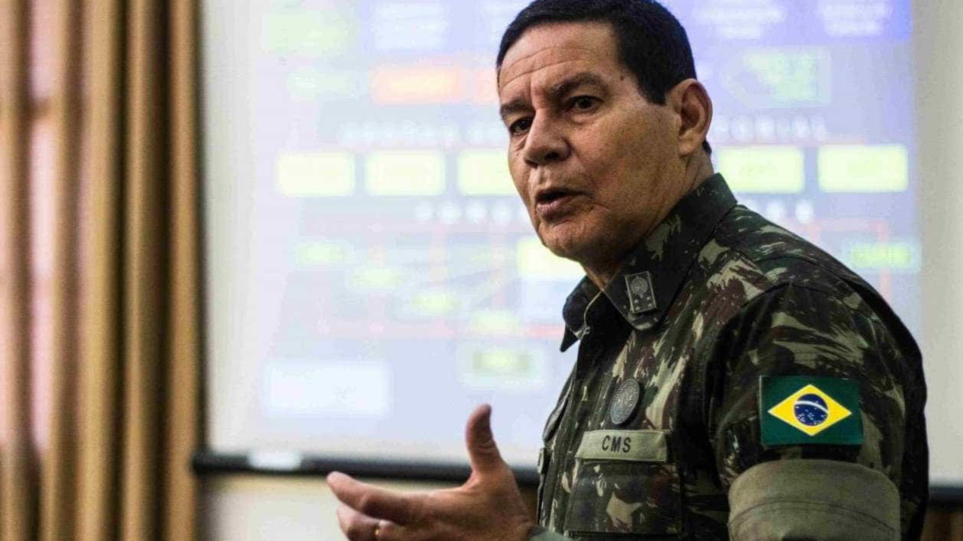 PRTB nega que inteligência das Forças Armadas ajudem Mourão