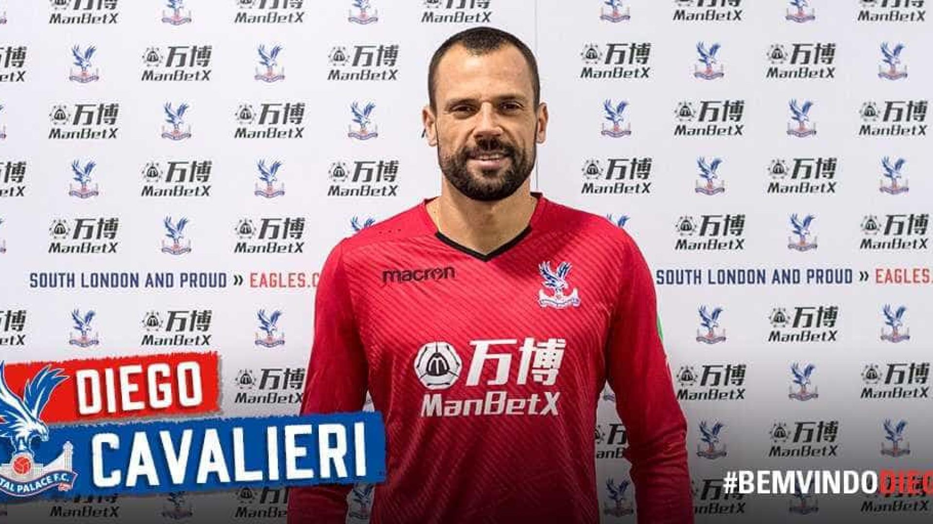 Cavalieri é anunciado pelo Crystal Palace, da Inglaterra — Oficial