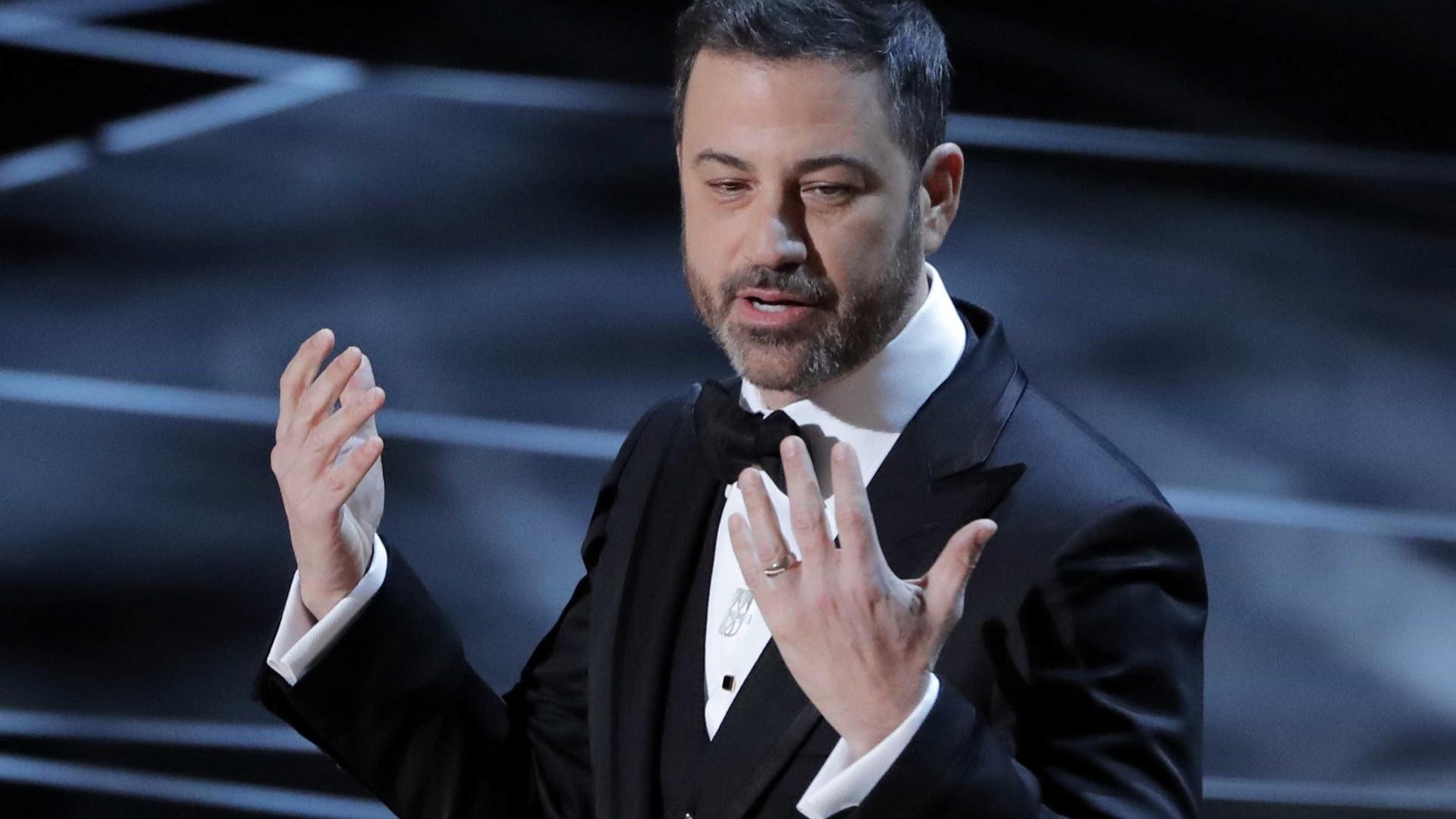 Oscar 2018: Jimmy Kimmel alfineta e pede aplausos a Harvey Weinstein