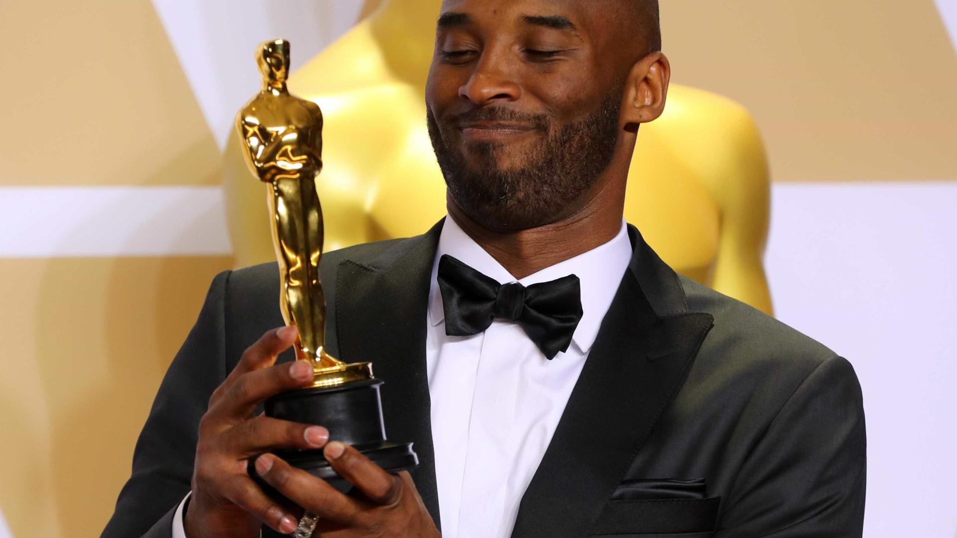 Kobe Bryant ganha Oscar por curta-metragem