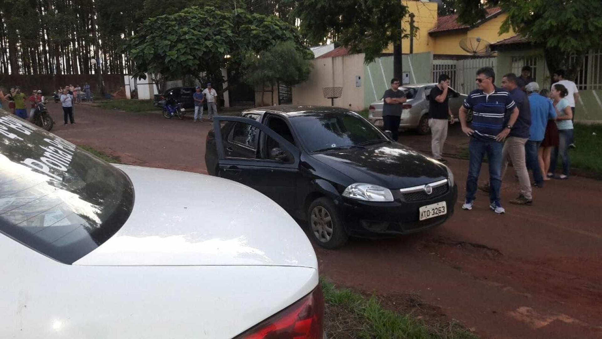 Policial é executado com 30 tiros de fuzil na fronteira com o Paraguai