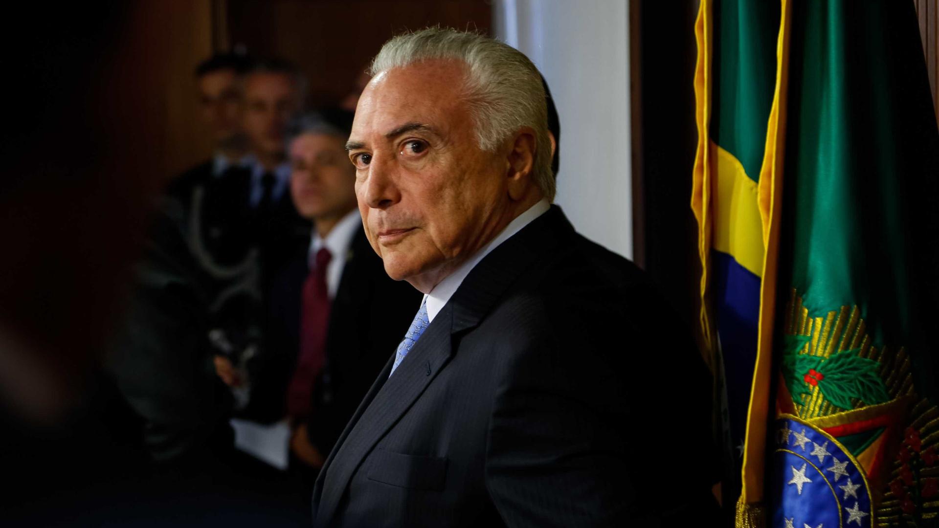 Planalto adota estratégia para tentar reeleição de Temer, diz coluna