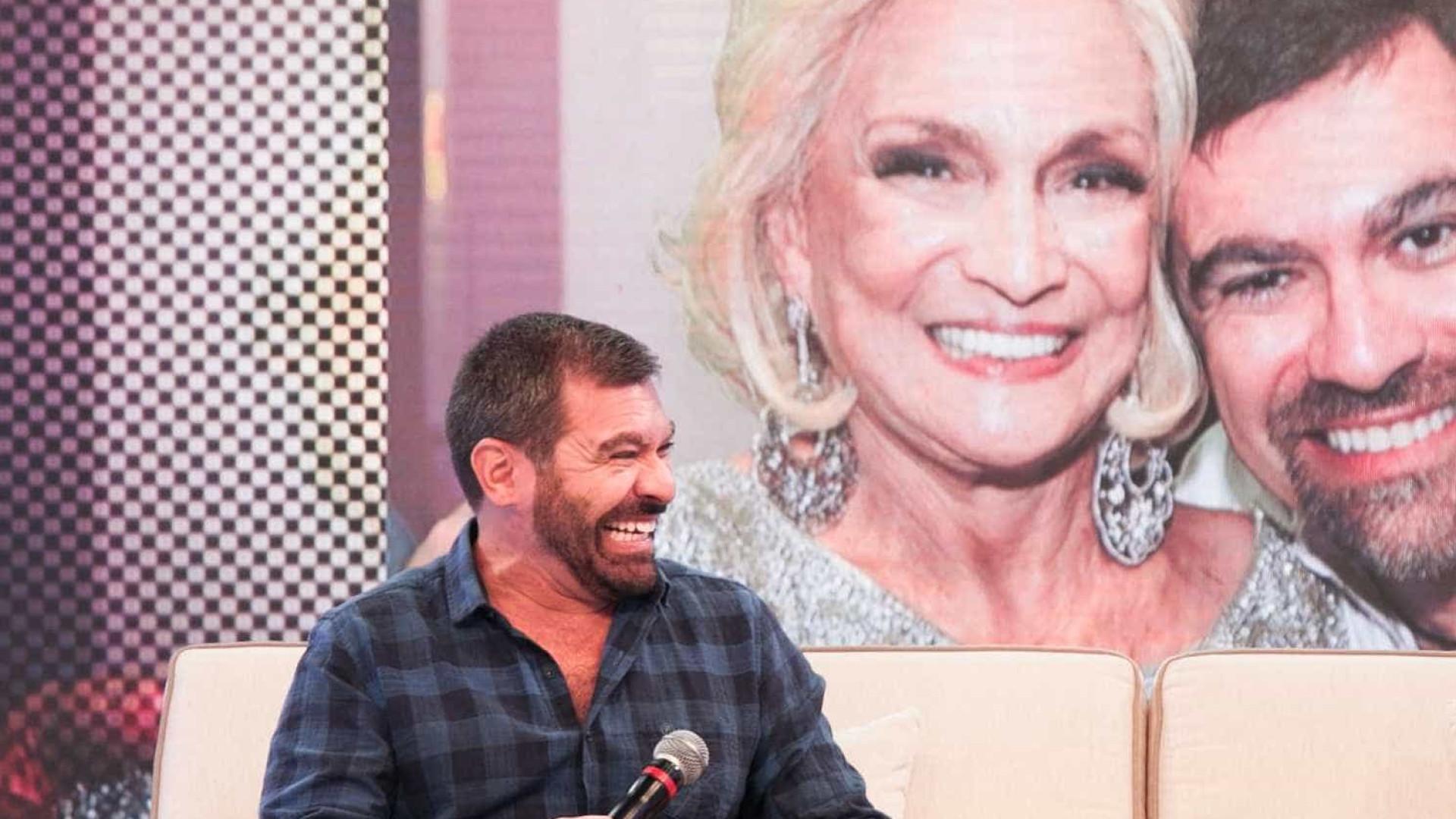 'O grande amor da vida dela foi o público', diz filho de Hebe Camargo