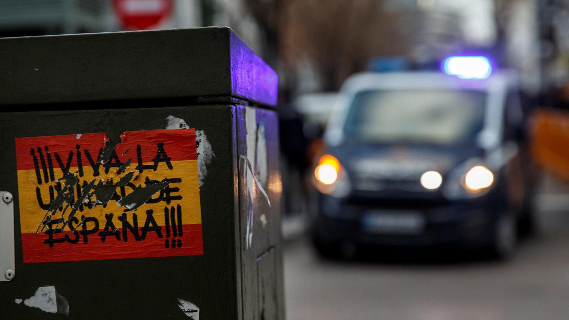 45 mil marcharam em Barcelona pela República da Catalunha