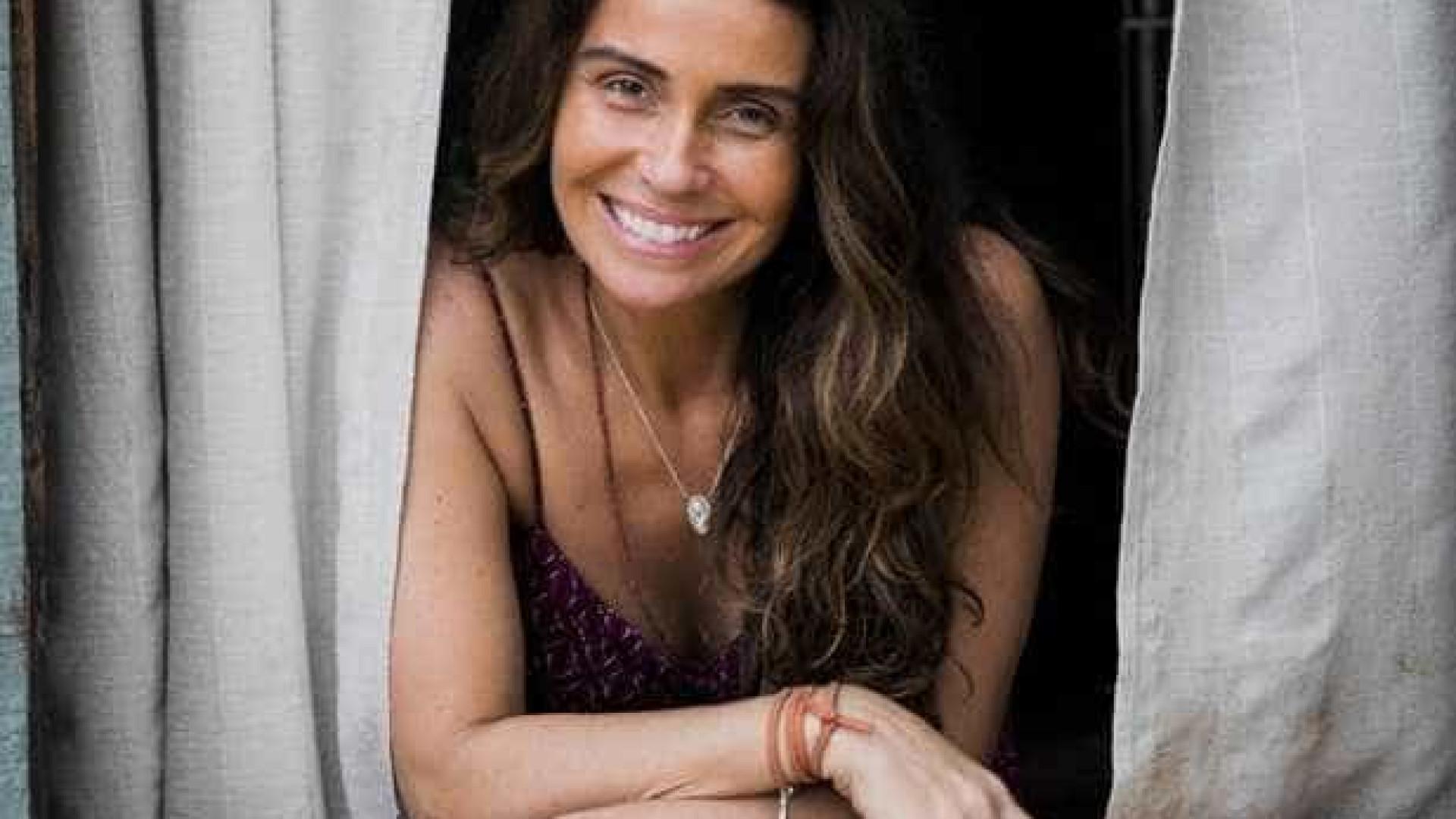 Giovanna Antonelli aparece com novo visual para novela 'Segundo Sol'
