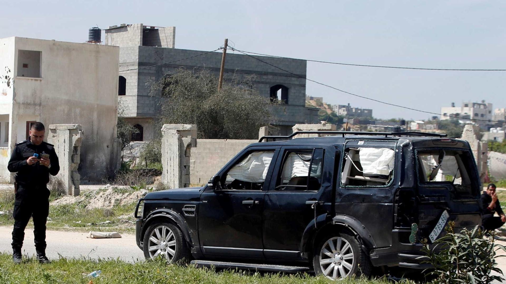 Premier palestino sobrevive a ataque a bomba em Gaza