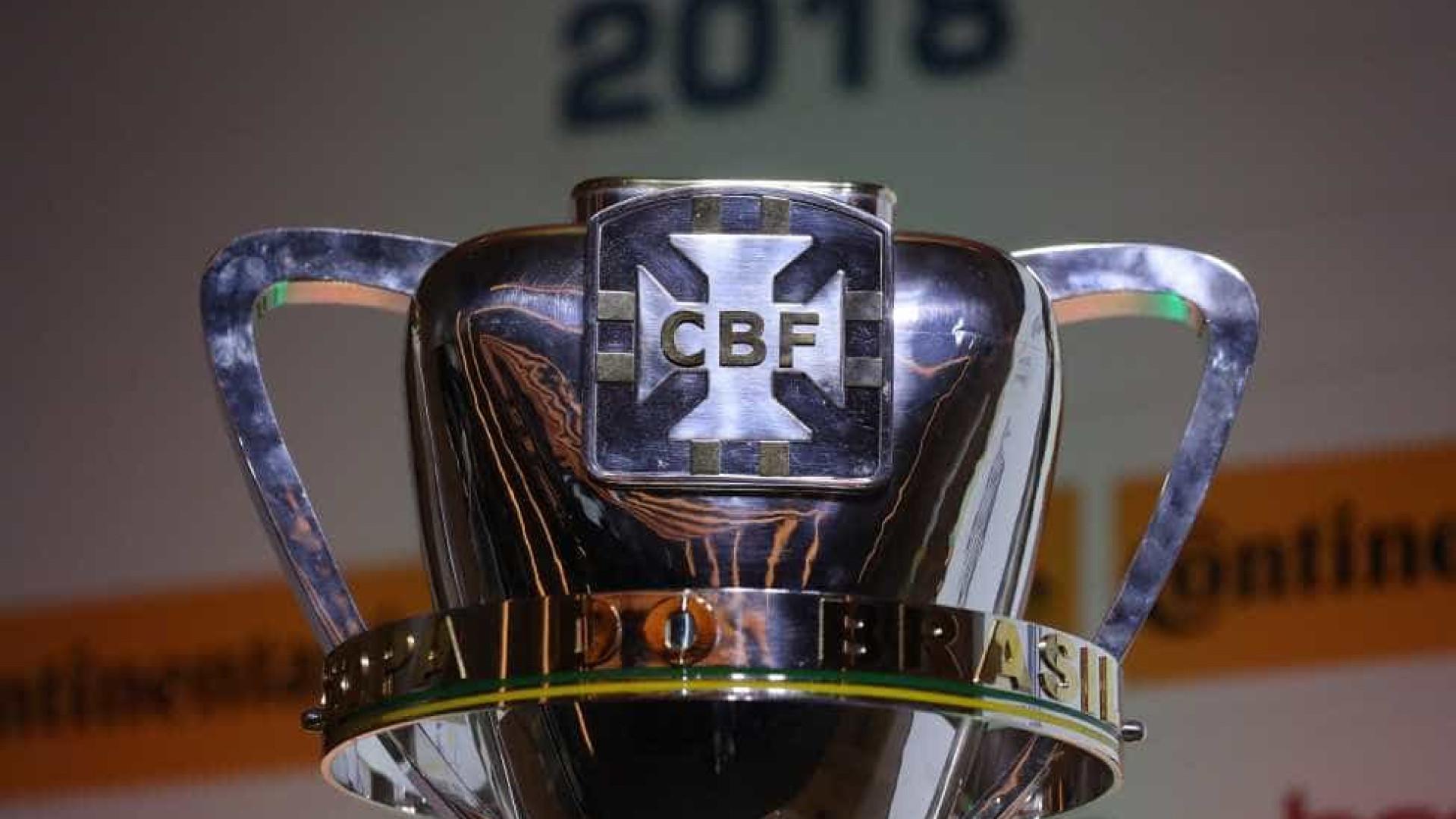 CBF marca data do sorteio da quarta fase da Copa do Brasil