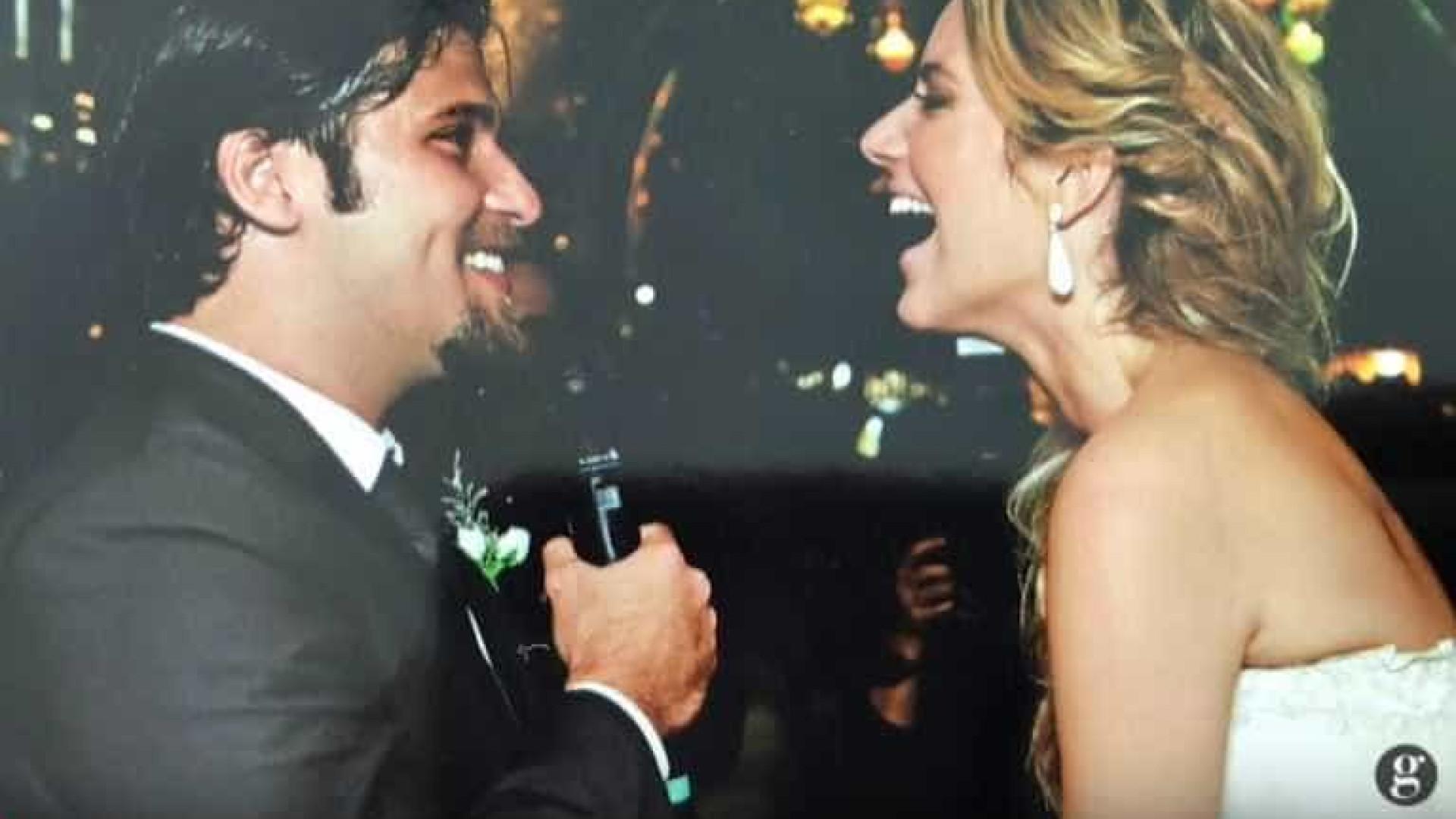 Gagliasso e Ewbank celebram 8 anos juntos e mostram vídeo do casamento