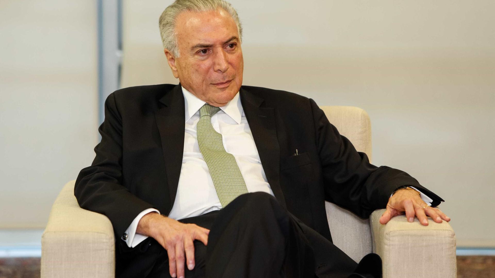 Temer realiza consulta de revisão urológica em São Paulo