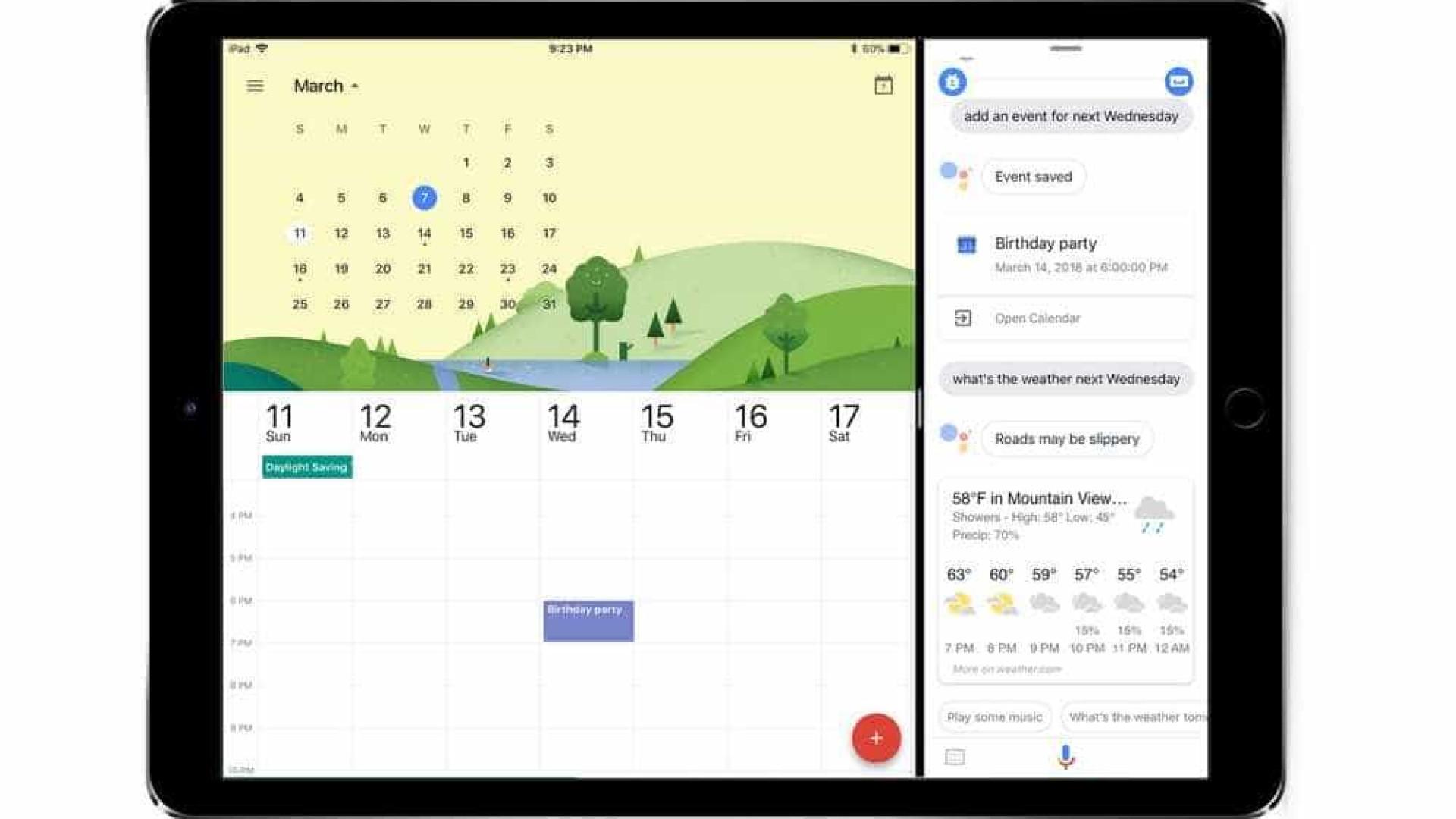 Google Assistente chega ao iPad em português