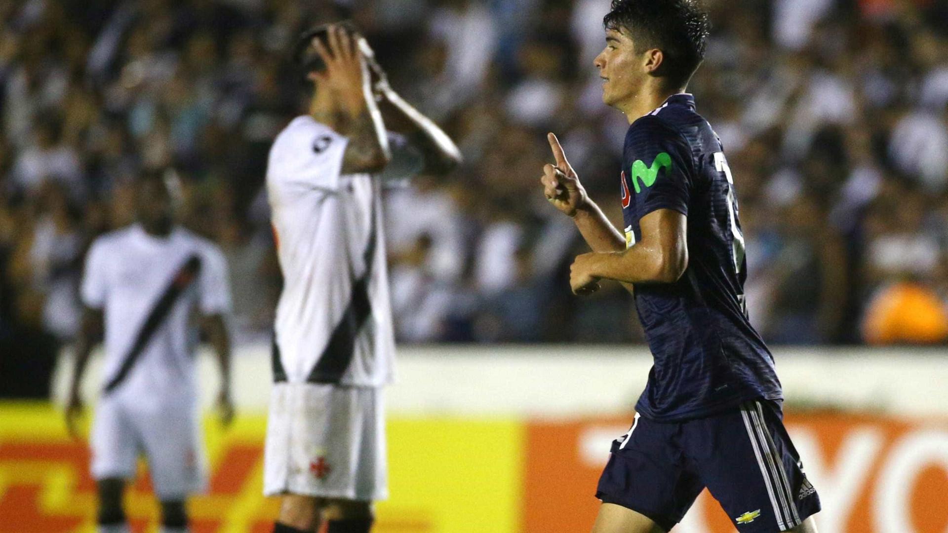 Vasco perde para chilenos na estreia da fase de grupos da Libertadores