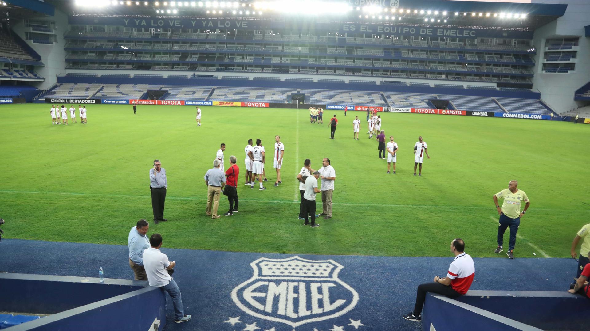 Flamengo terá Diego e Éverton Ribeiro contra Emelec