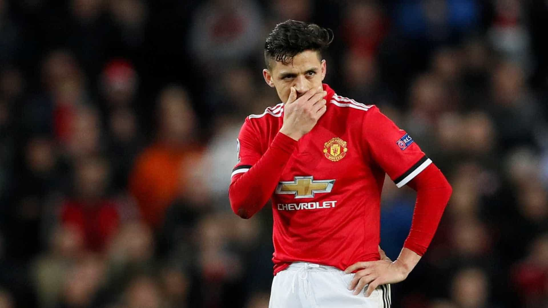 Ex-Manchester United critica Alexis Sánchez: 'Sombra do que era'