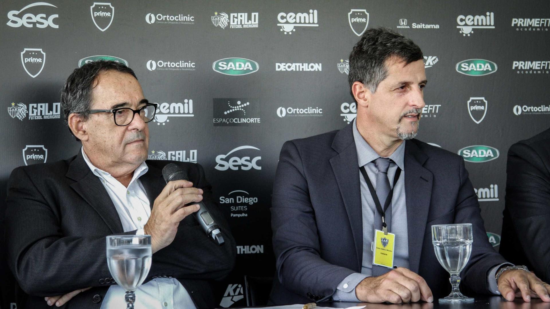 Corpo de Bebeto de Freitas é velado no Atlético-MG e seguirá para o Rio