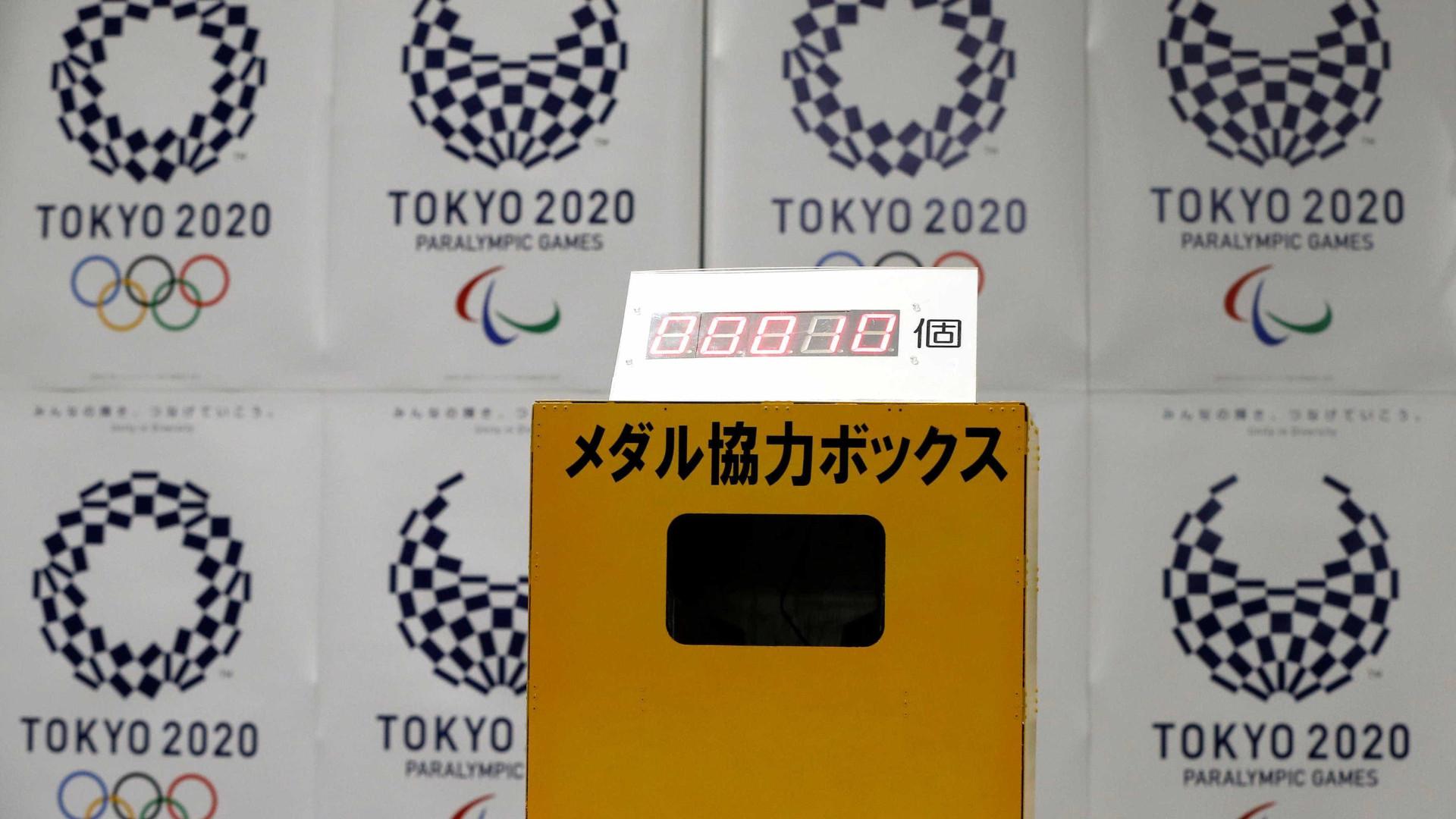 Tóquio usará recicláveis para fazer medalhas dos Jogos 2020