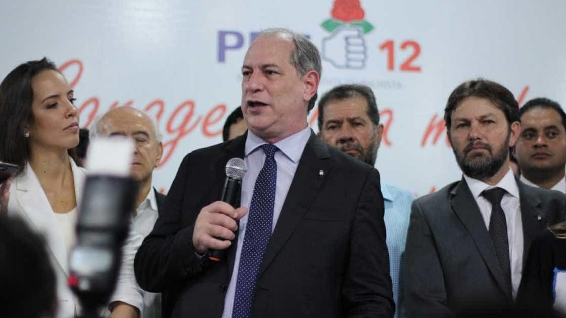 Caetano Veloso diz que se prepara para votar em Ciro Gomes