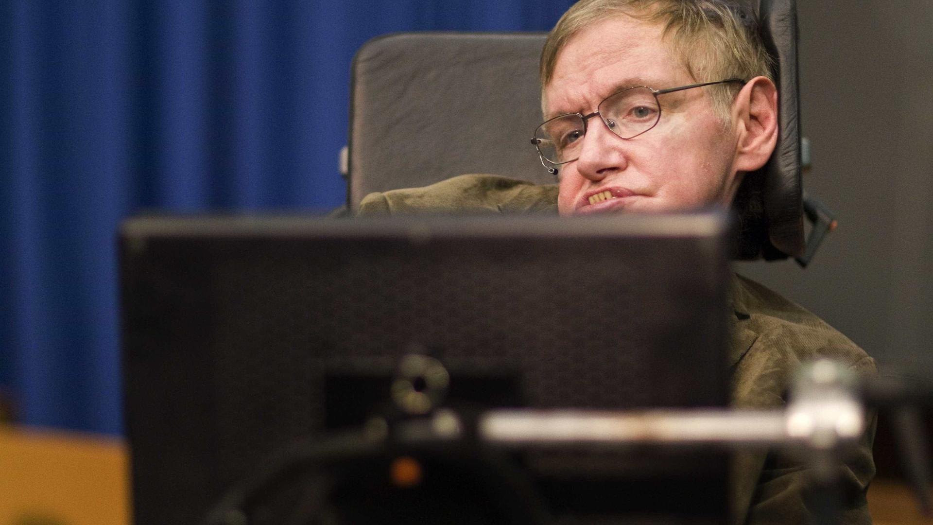 """ONU """"perdeu um amigo"""" com a morte de Hawking"""