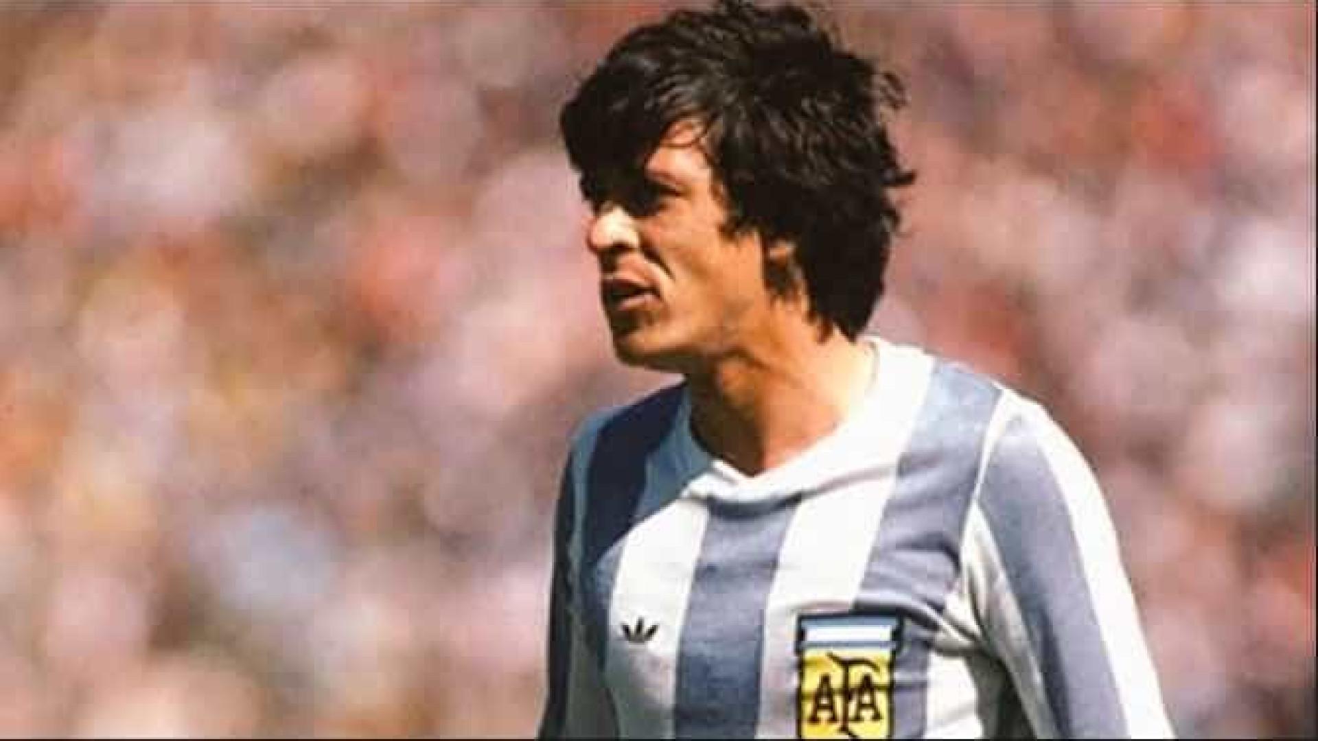 Campeão mundial com a Argentina morre vítima de câncer na língua
