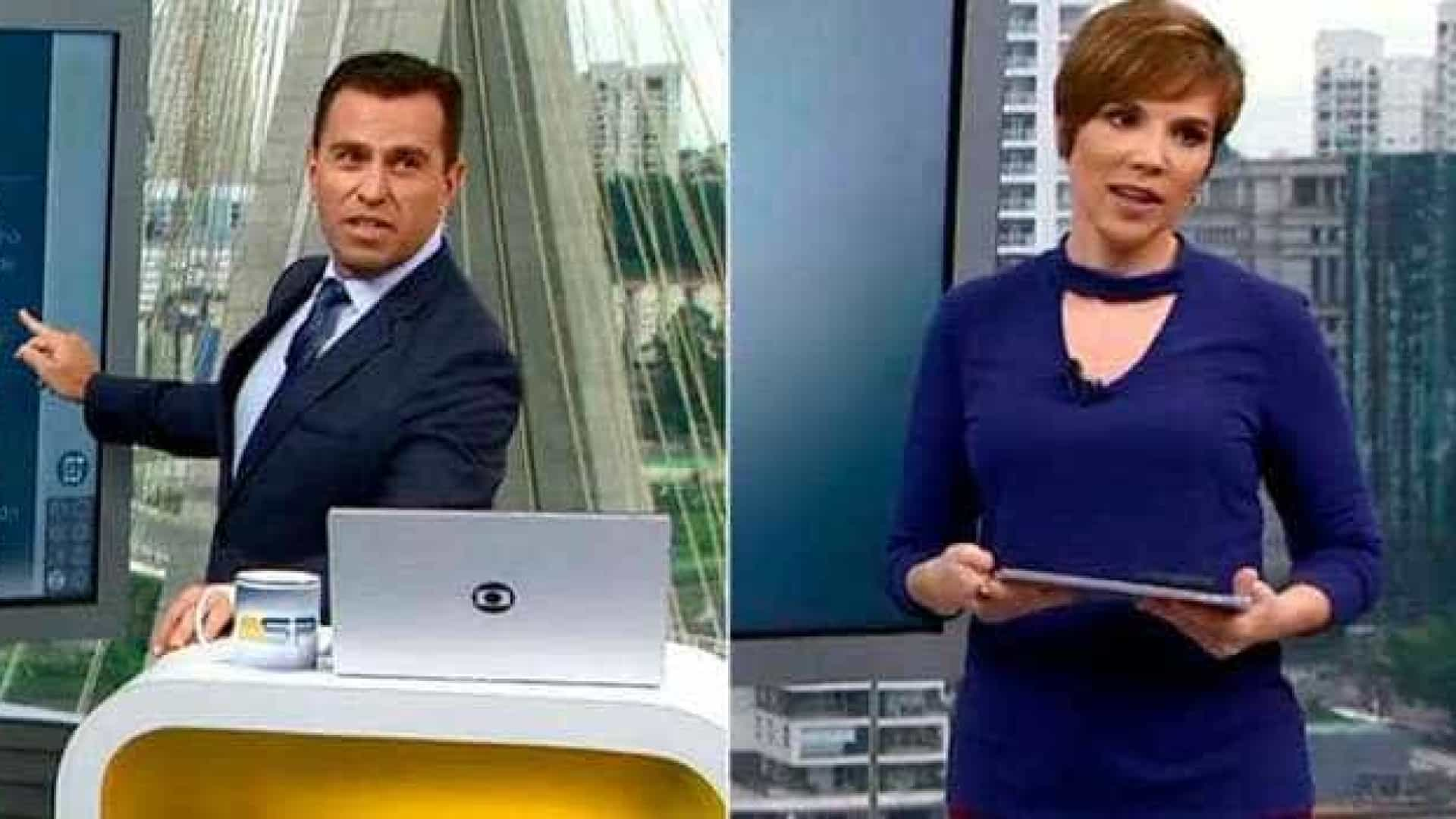 Jornalistas da Globo se desentendem ao vivo e clima pesa