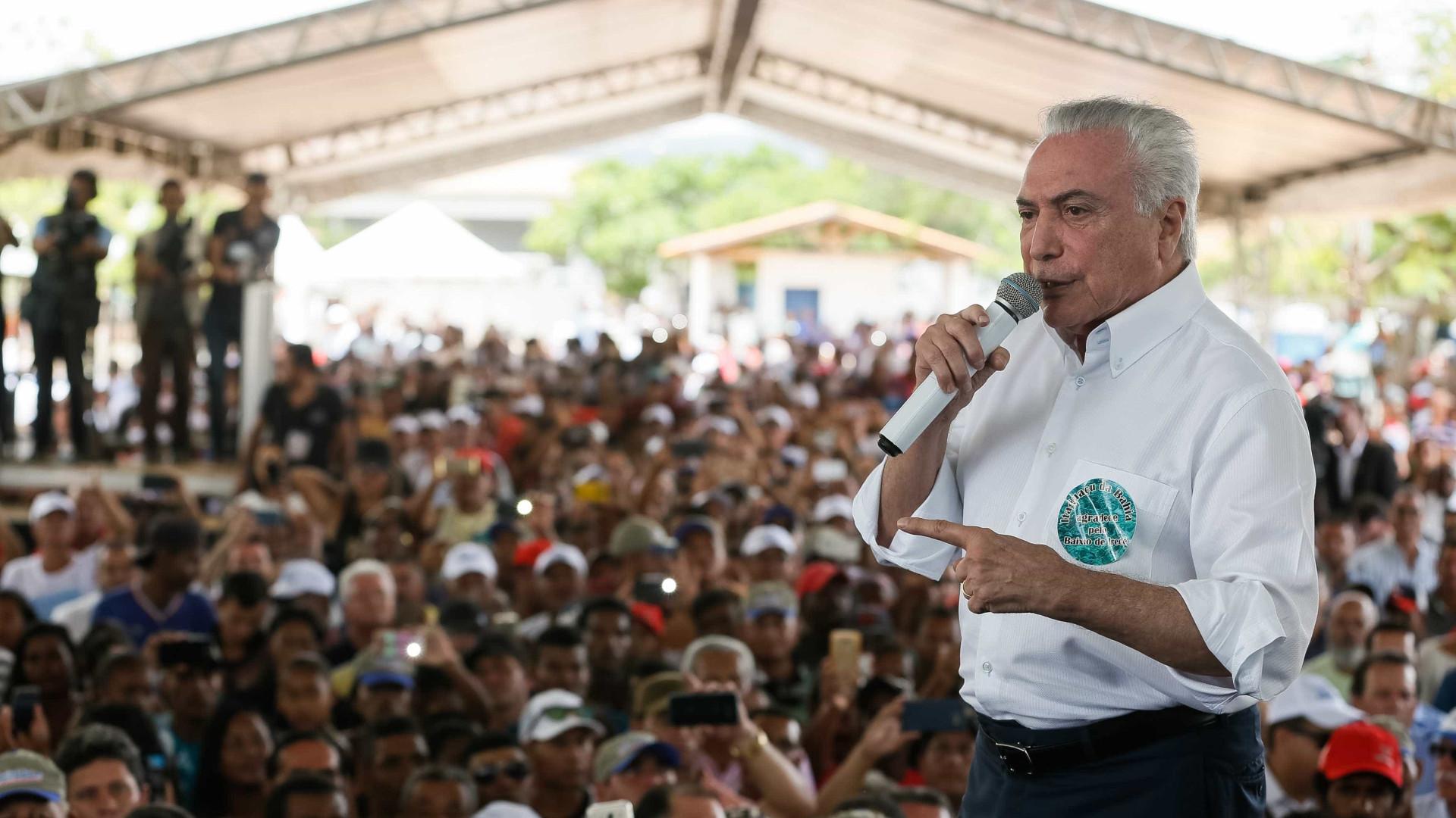 Confirmado: presidente Michael Temer garante que vai disputar reeleição