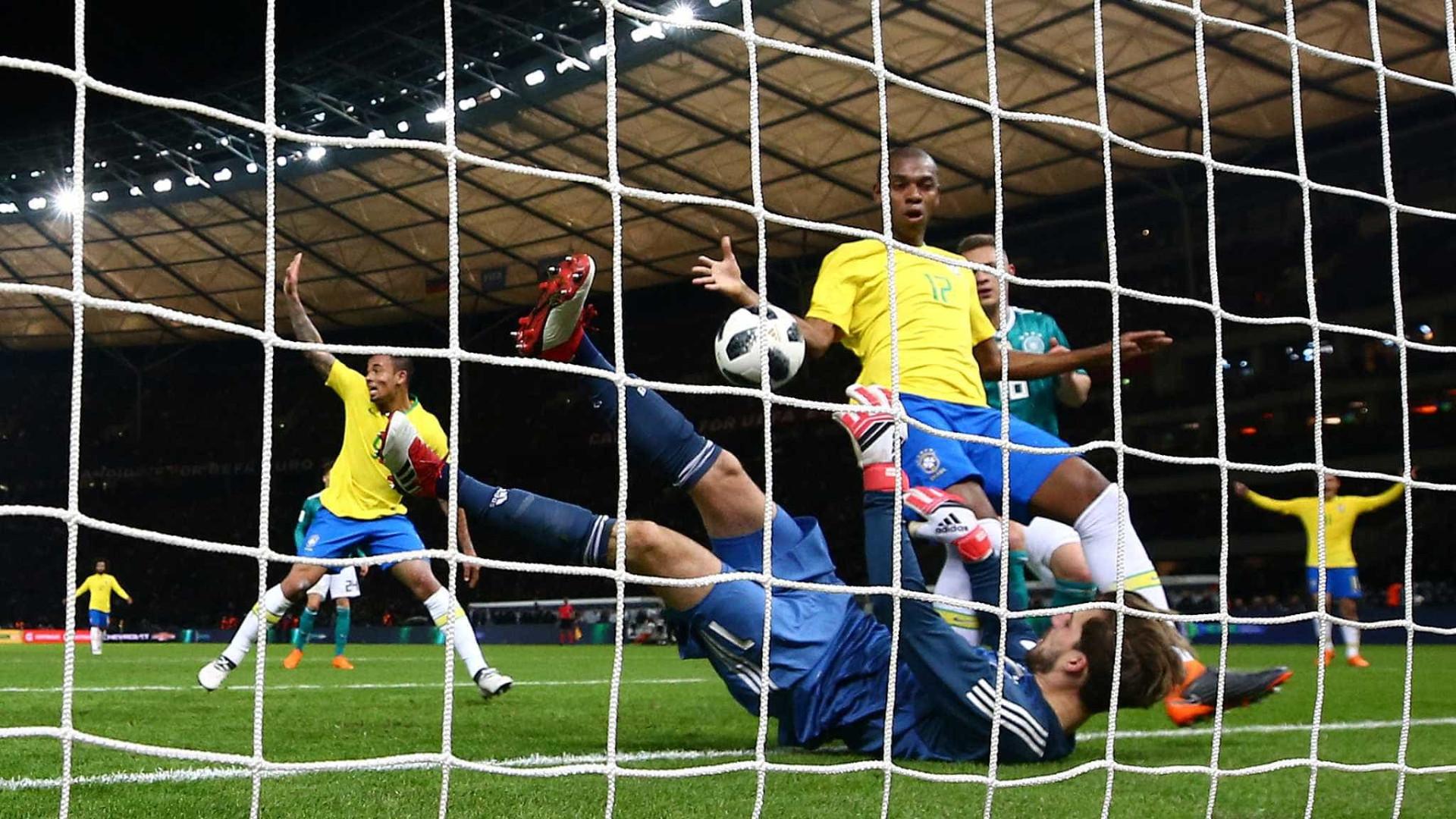 Brasil vence Alemanha em primeiro encontro após '7 a 1'
