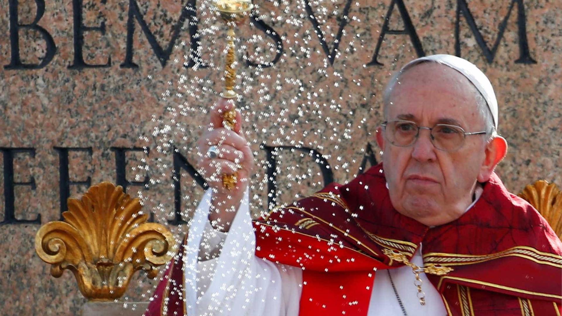 Seleção da Argentina vai ao Vaticano — Torcida do papa