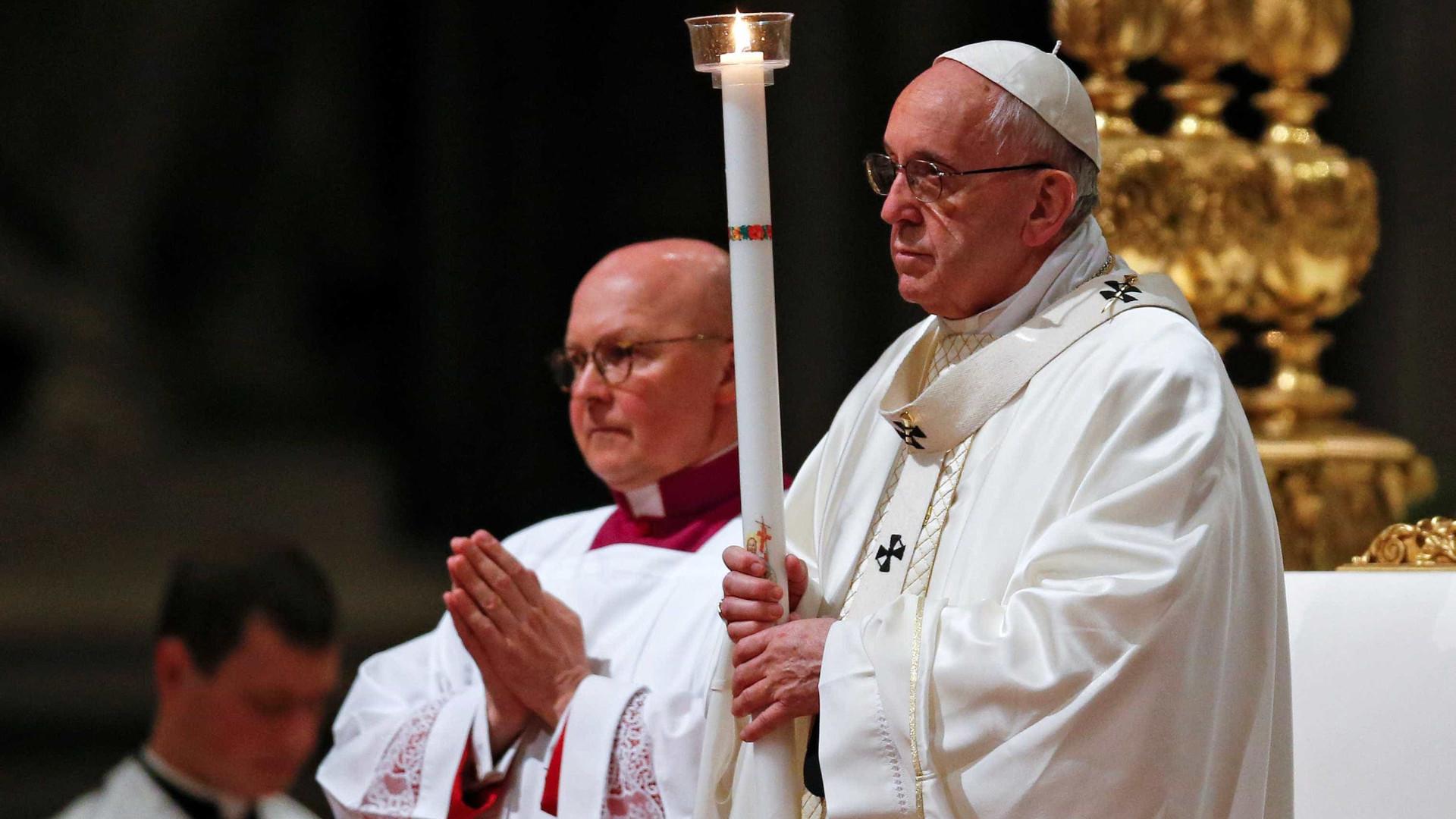Papa Francisco denunciou