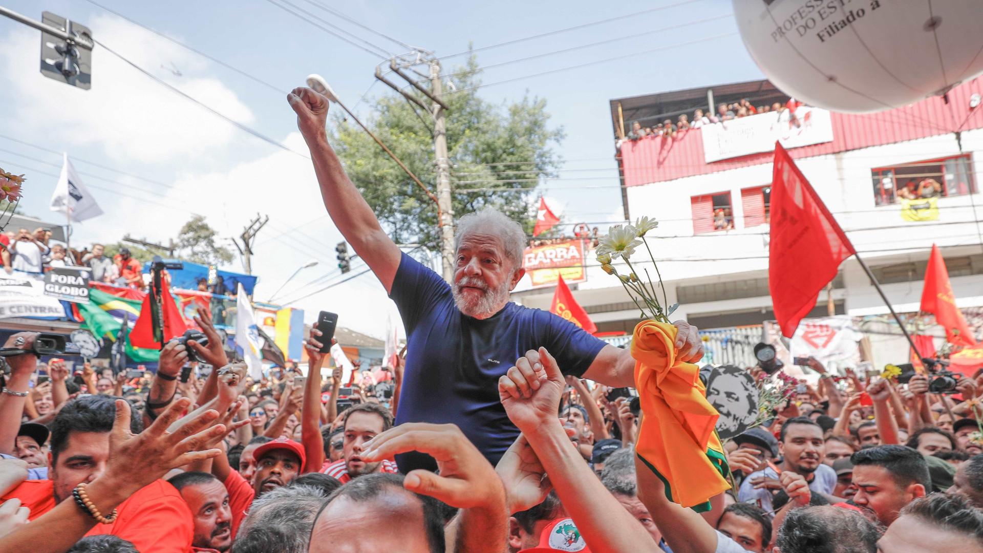 Lula é oportunidade de o Brasil reencontrar democracia, diz PT do Congresso