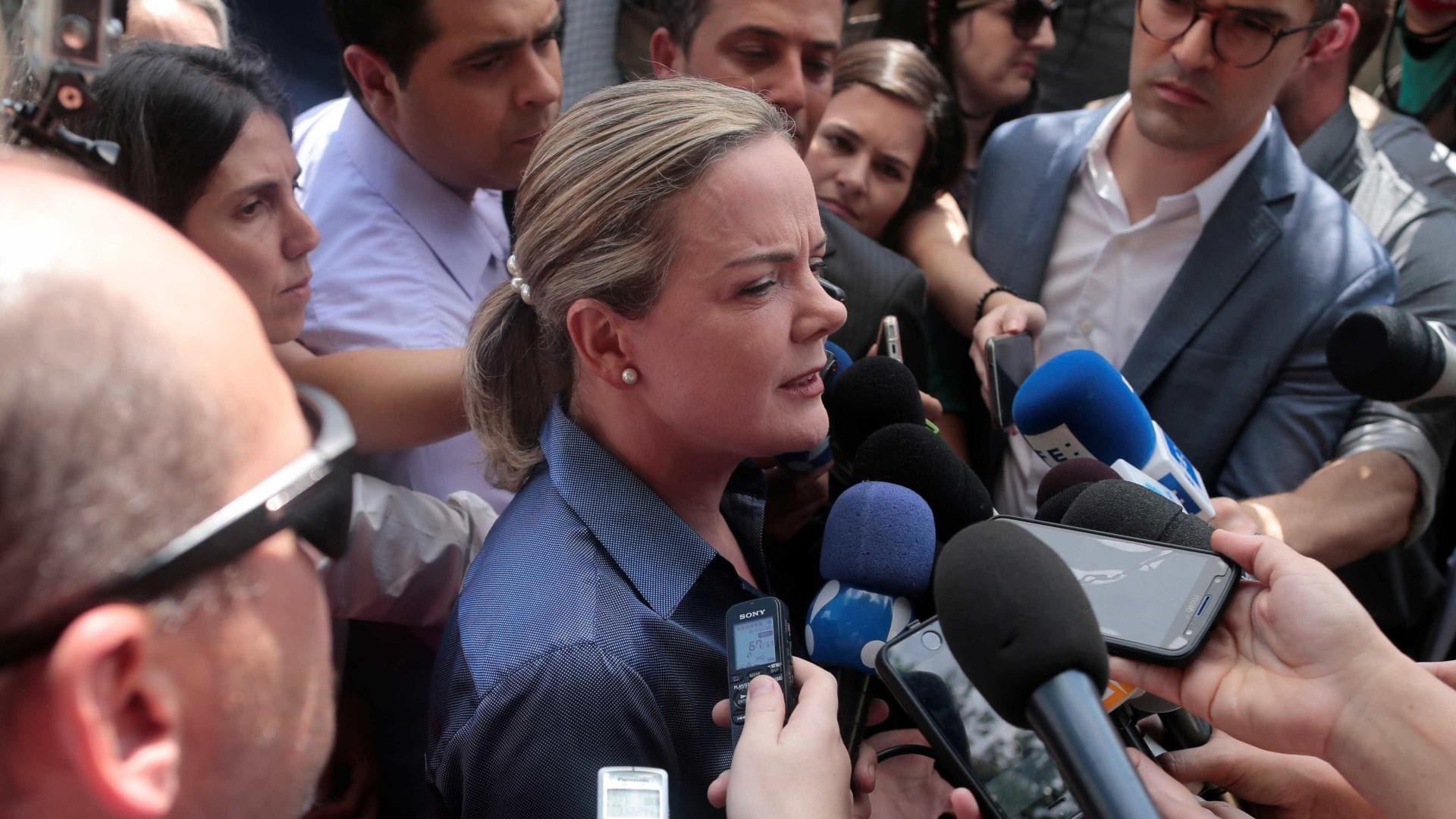 'Seria um erro político o PT não ter Lula como candidato', diz Gleisi
