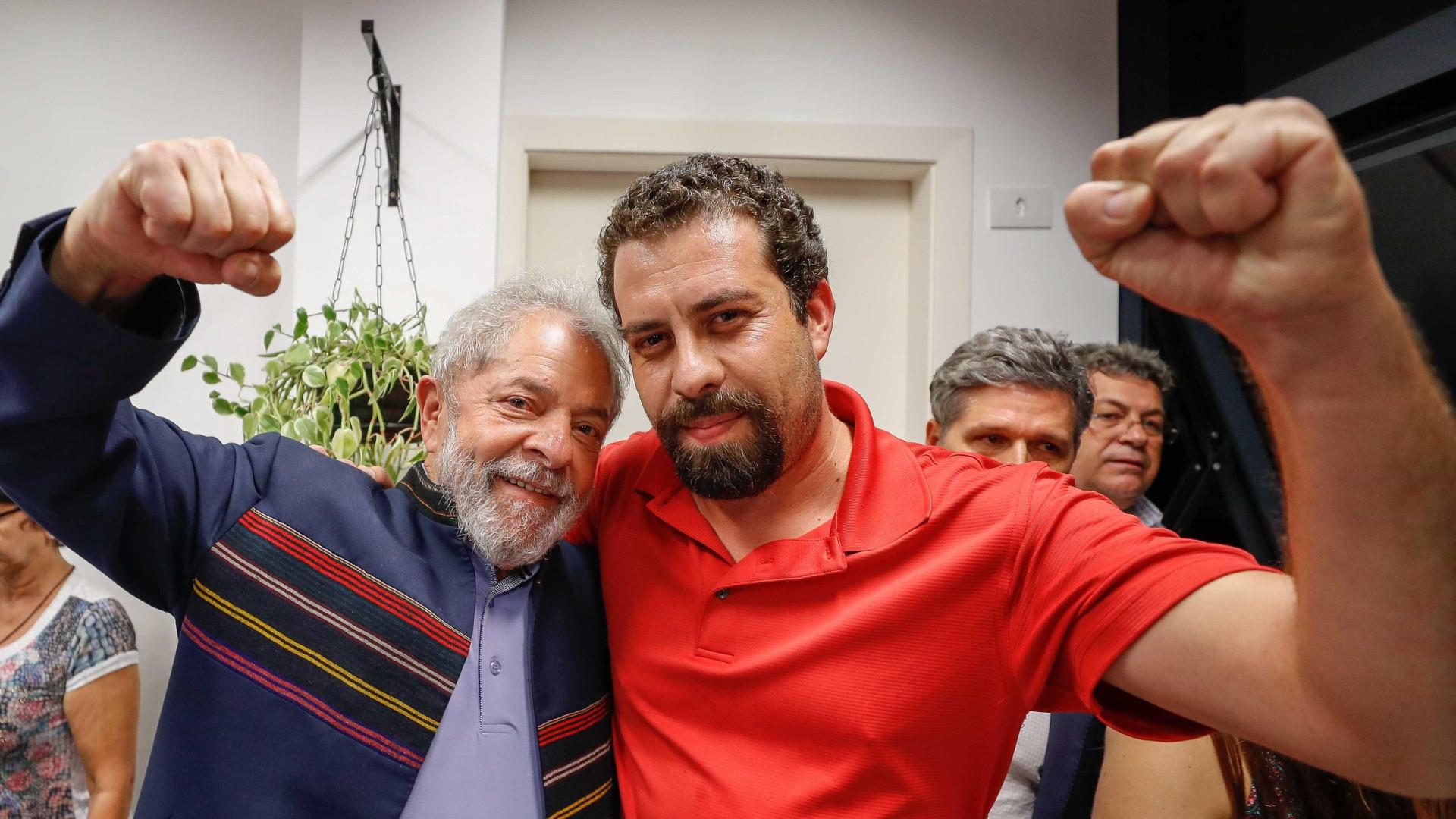 Não dá para admitir chicana de Moro, diz Boulos sobre soltura de Lula