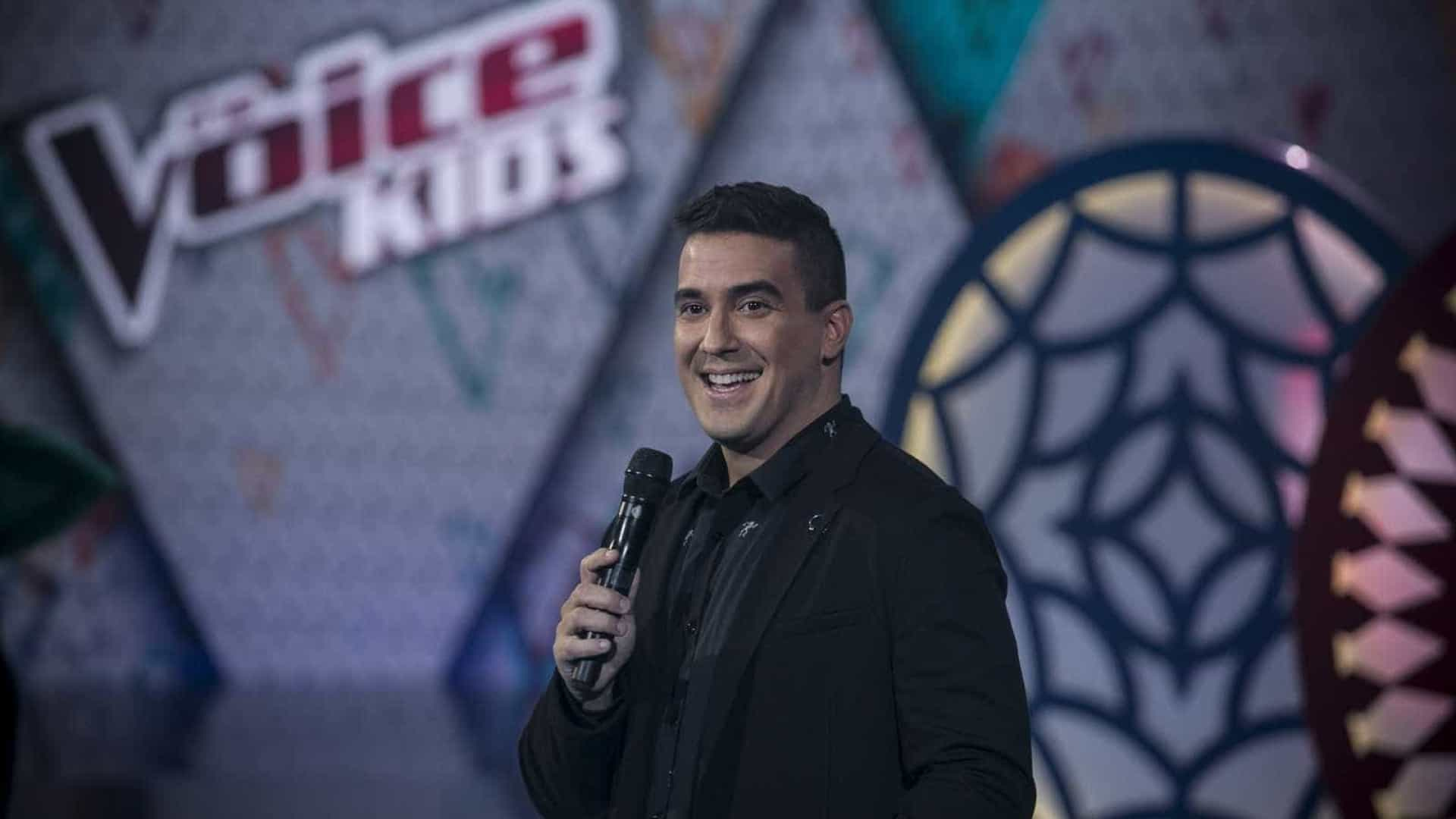 'The Voice Kids me despertou a vontade de ser pai', diz André Marques