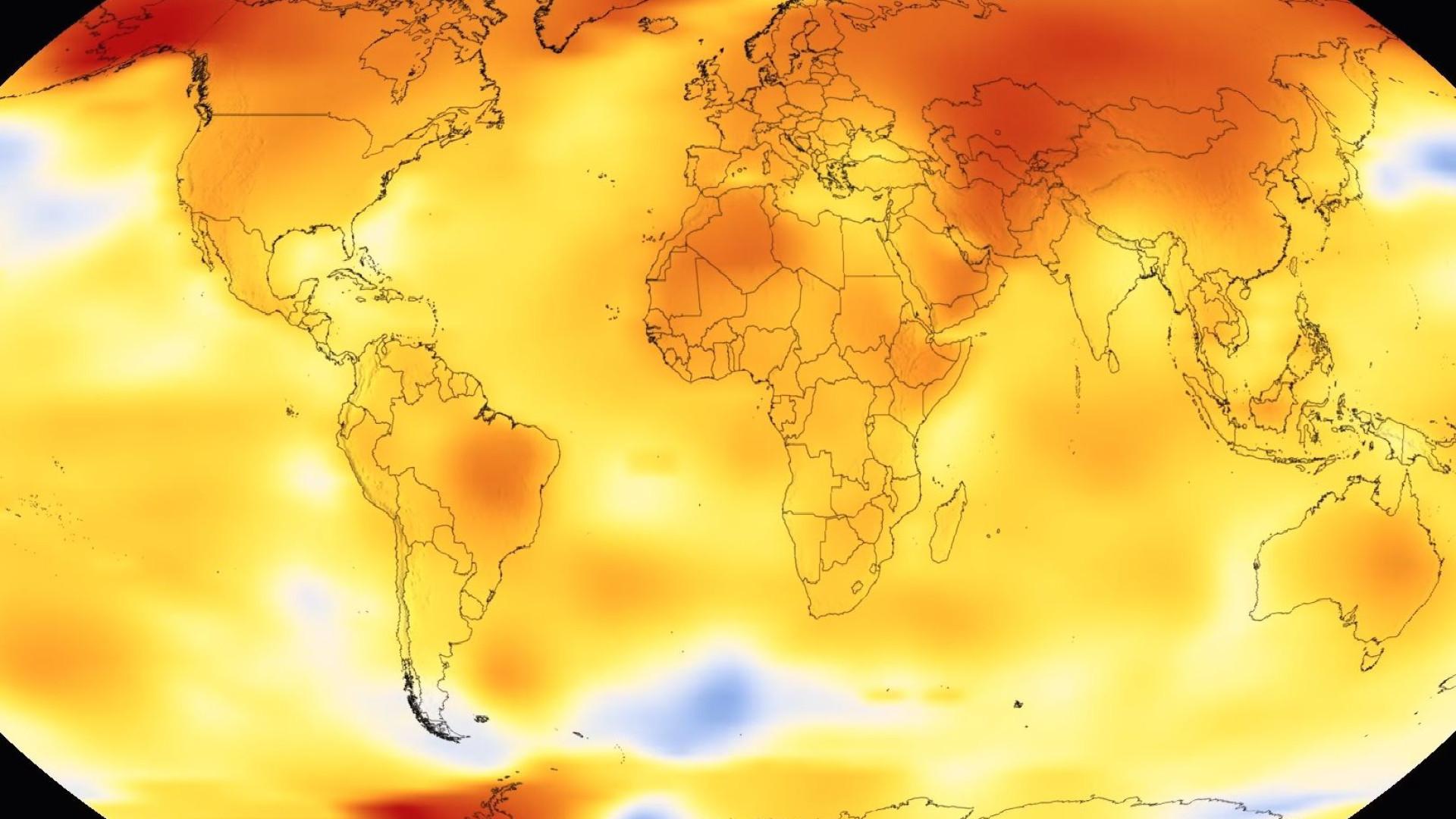NASA mostra efeitos de 137 anos de aquecimento global em 36 segundos