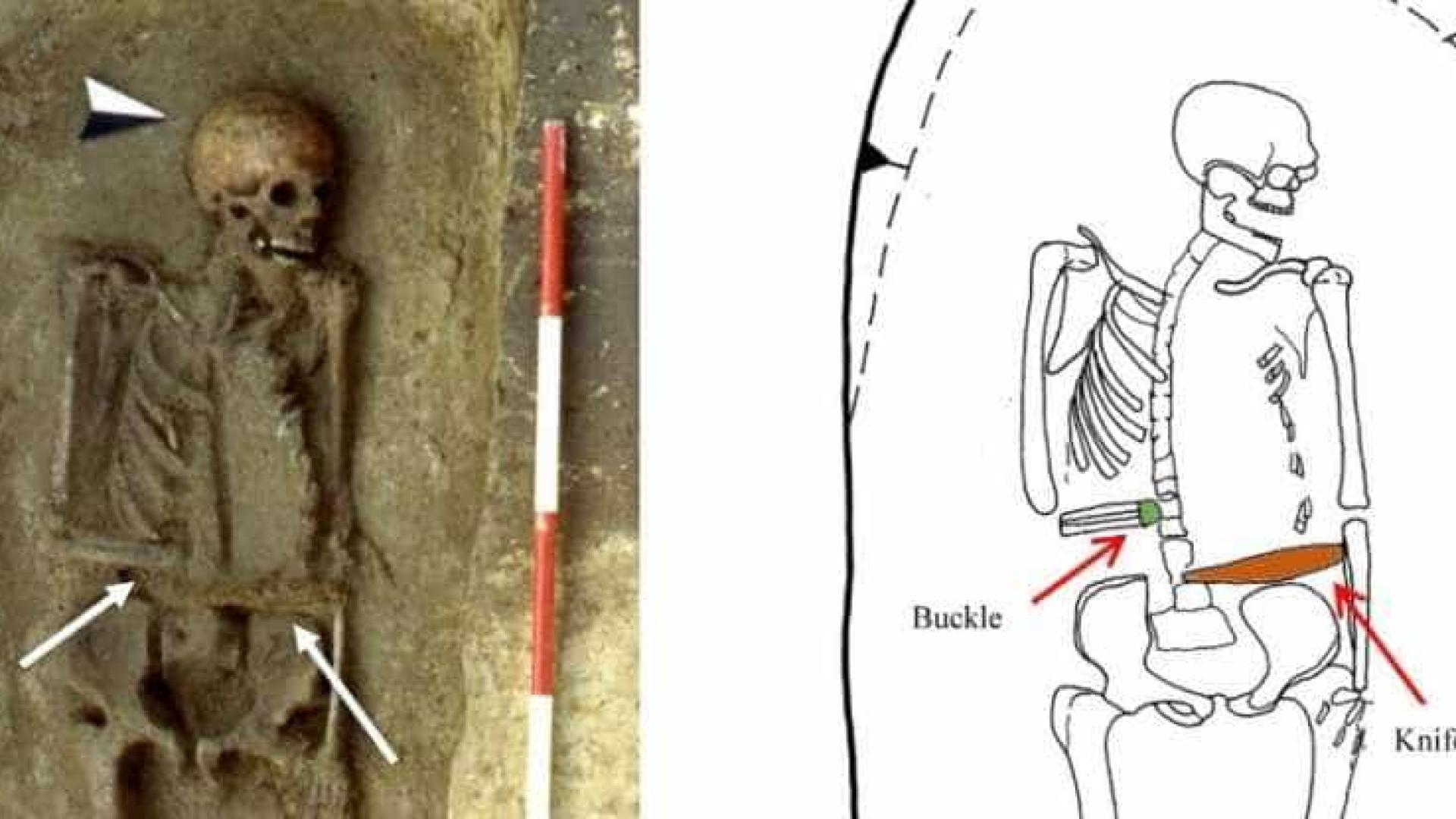 Faca em vez de mão: 'ciborgue' medieval é encontrado na Itália