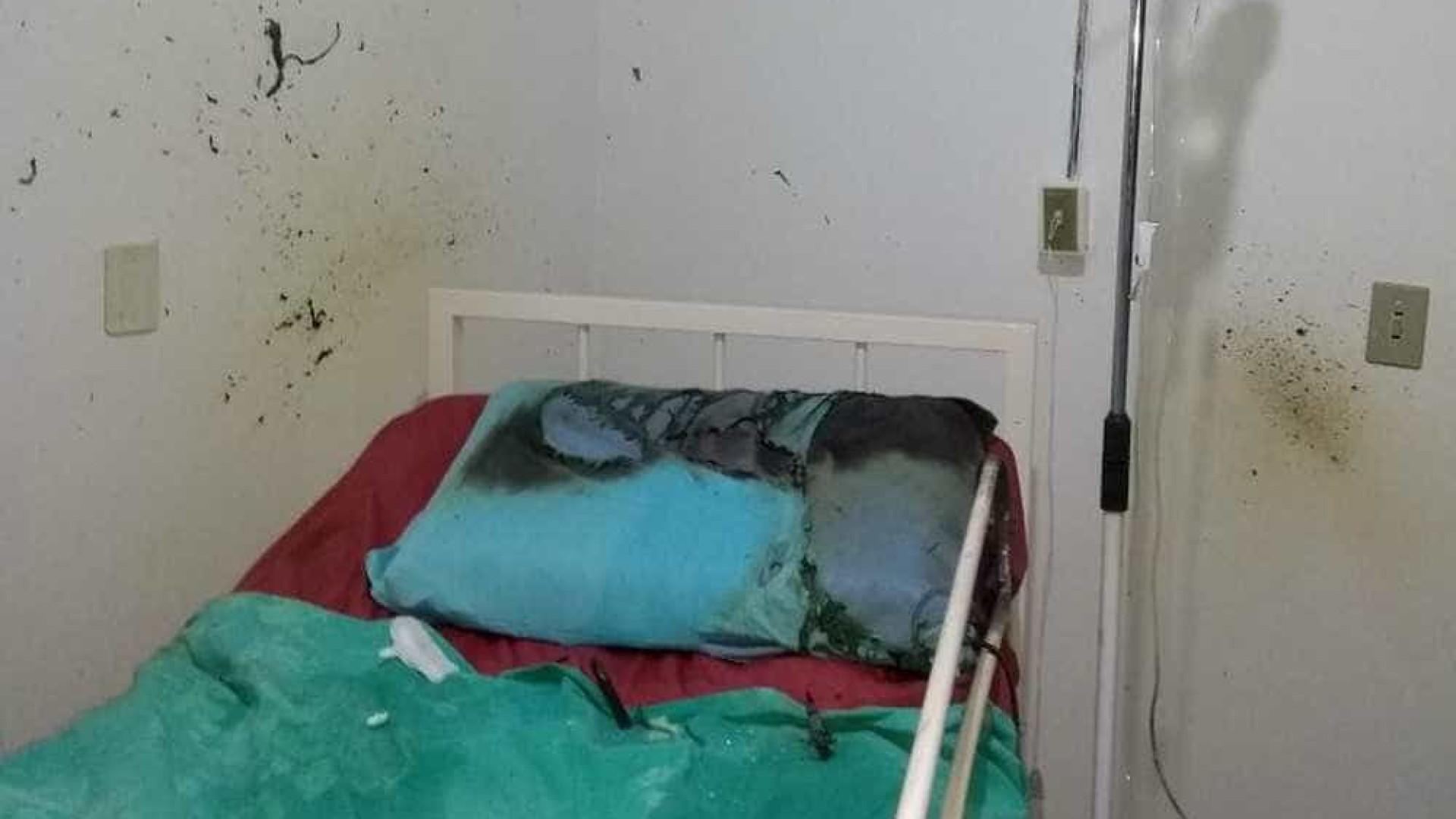 Cilindro de oxigênio explode e paciente fica ferido em hospital no PR