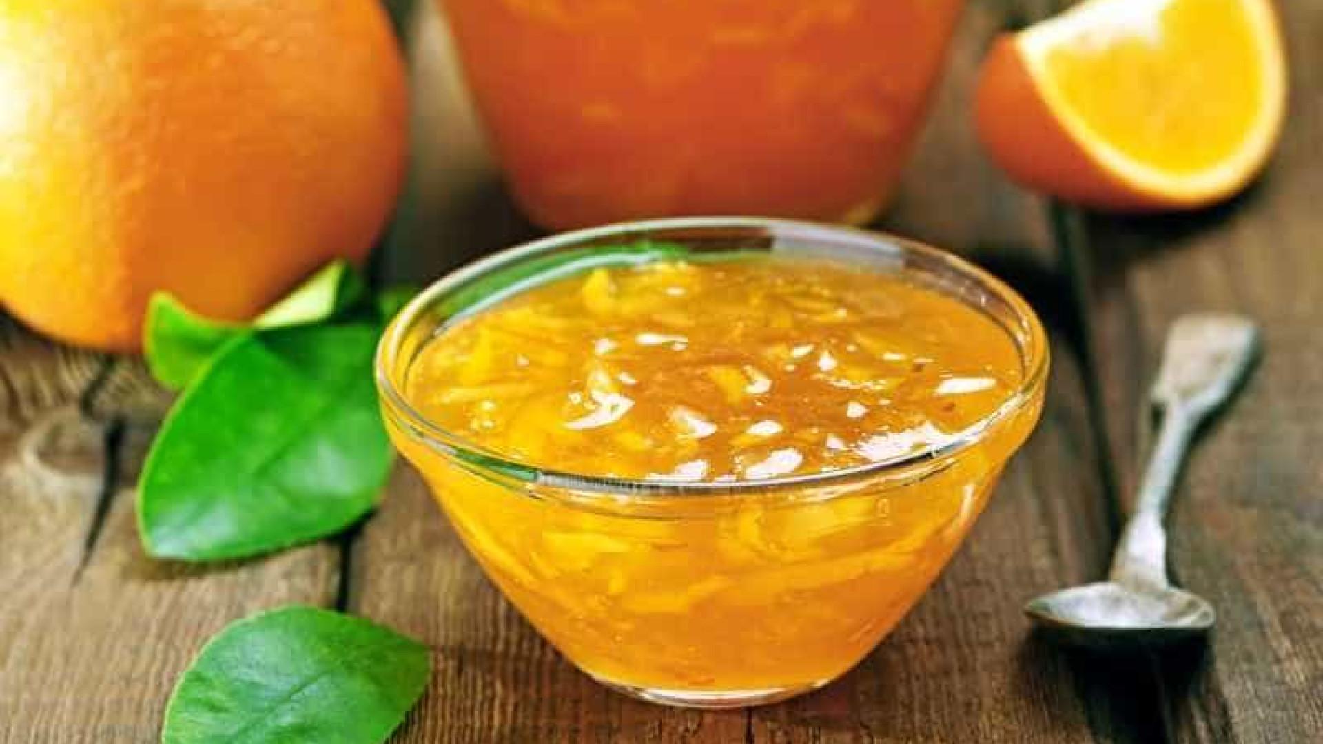 Aprenda a fazer uma geléia com cascas de laranja que não vai ao fogo
