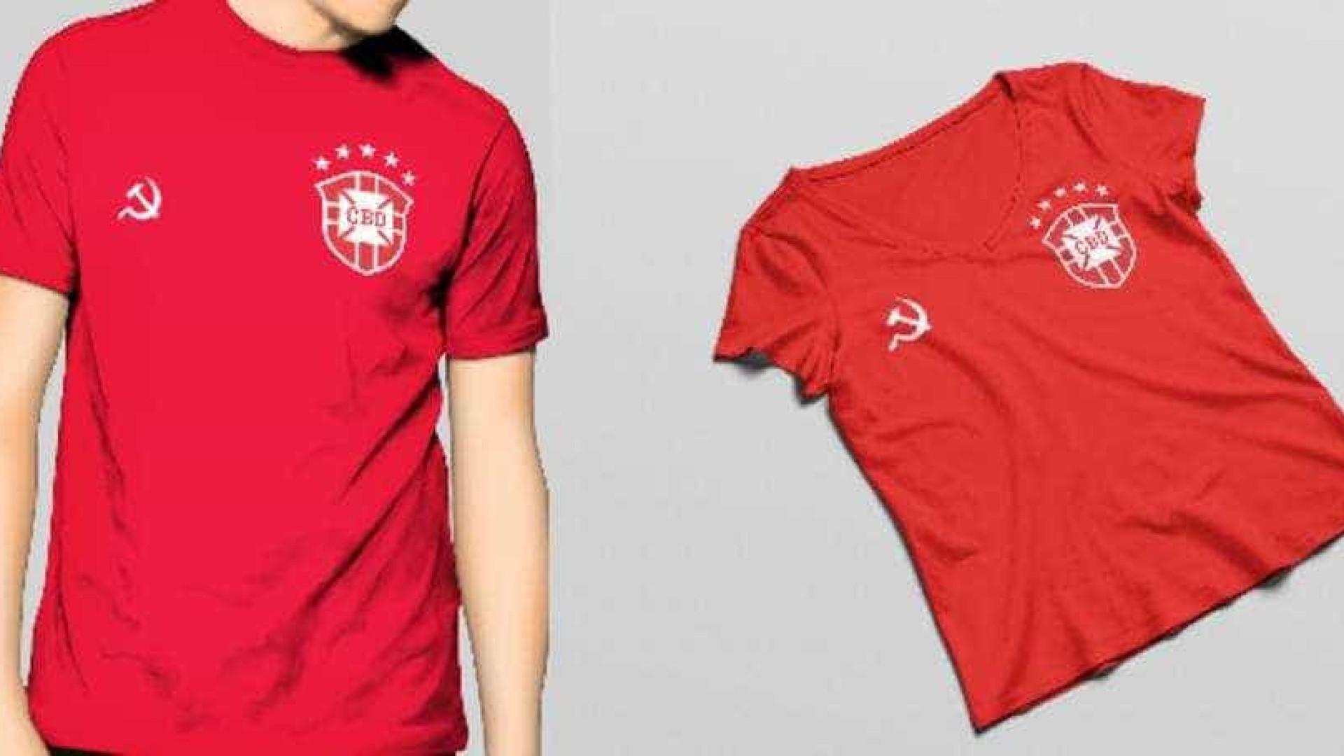 CBF vai à Justiça e proíbe versão 'comunista' da camisa da seleção