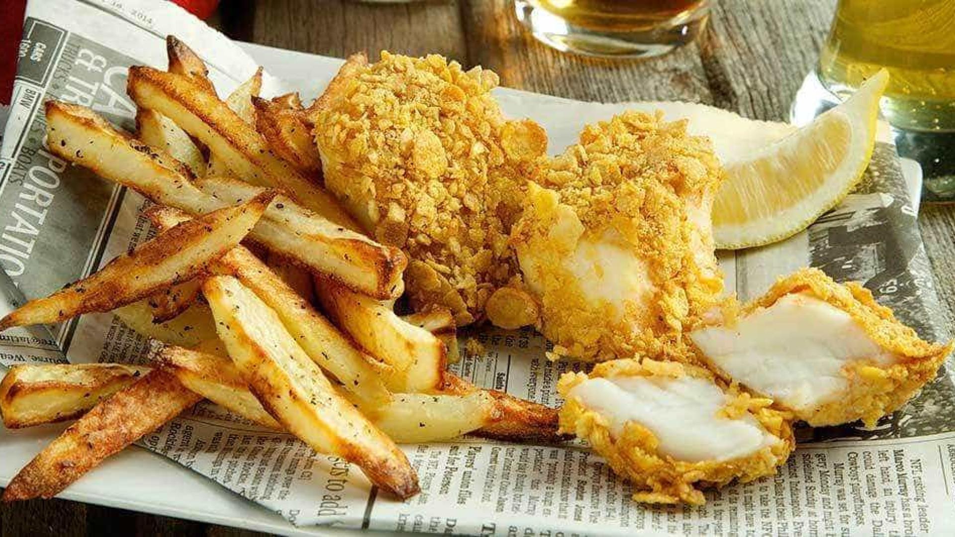 Do Reino Unido para sua mesa: aprenda a fazer 'fish and chips'