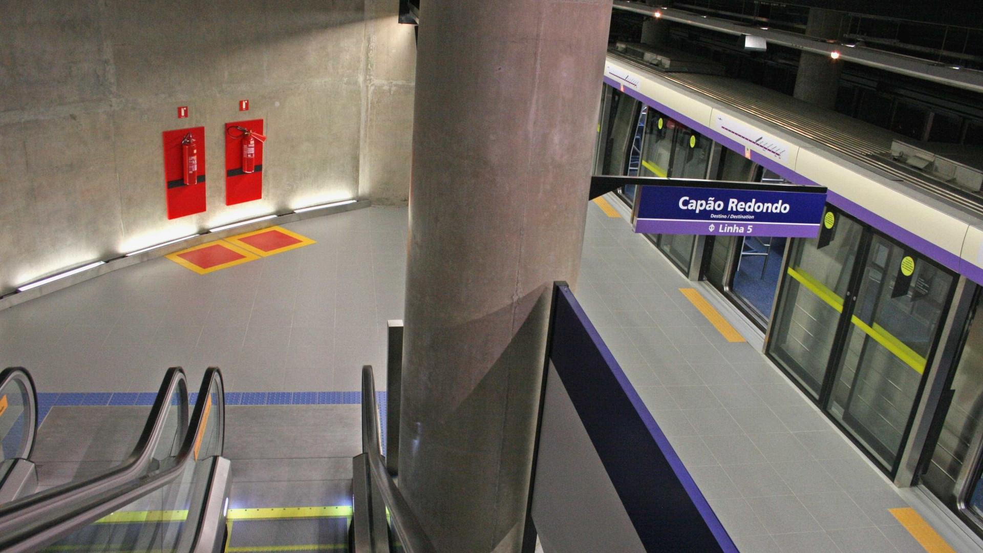 Linhas de metrô e trem funcionarão na madrugada da Virada Cultural